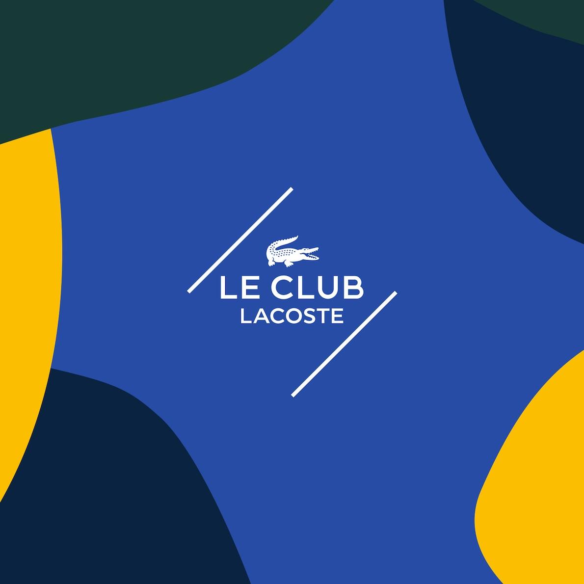 Le Club Lacoste'a Hoşgeldiniz