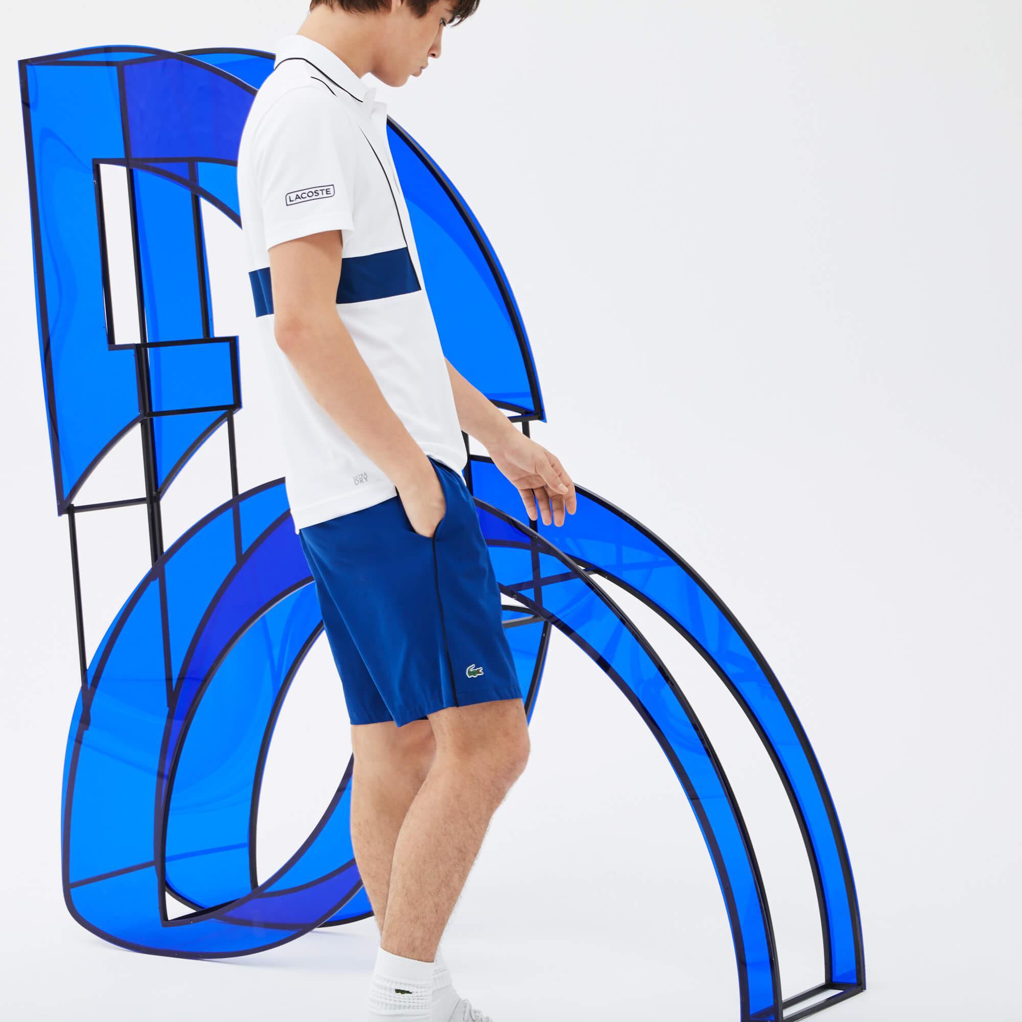 Lacoste Erkek Novak Djokovic Lacivert Spor Şort
