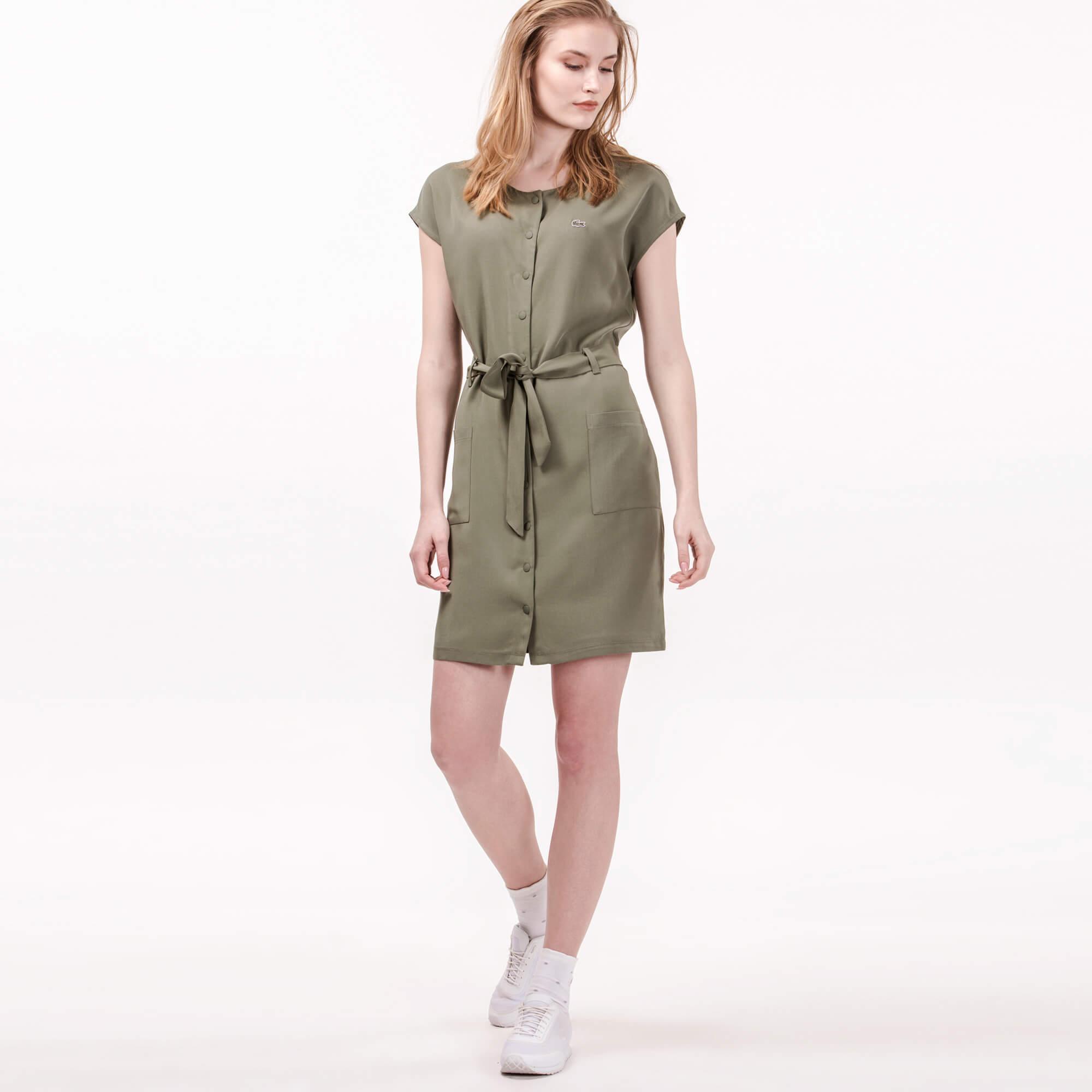 Lacoste Kadın Yeşil Elbise