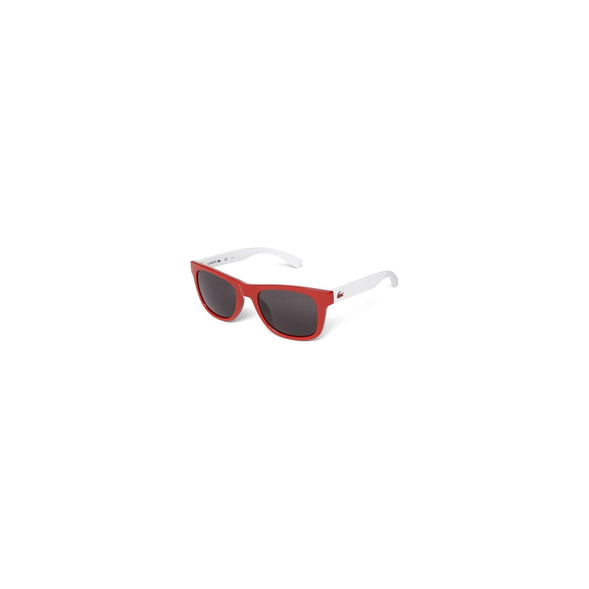 Lacoste Unisex Beyaz - Kırmızı Gözlük