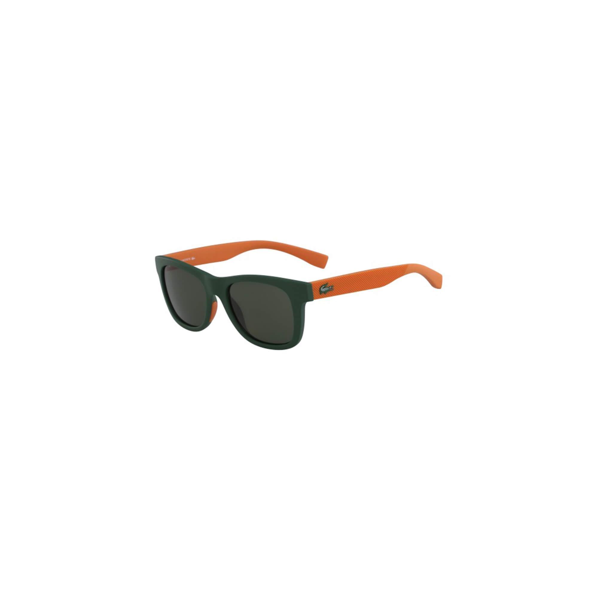 Lacoste Unisex Çocuk Yeşil - Turuncu Güneş Gözlüğü
