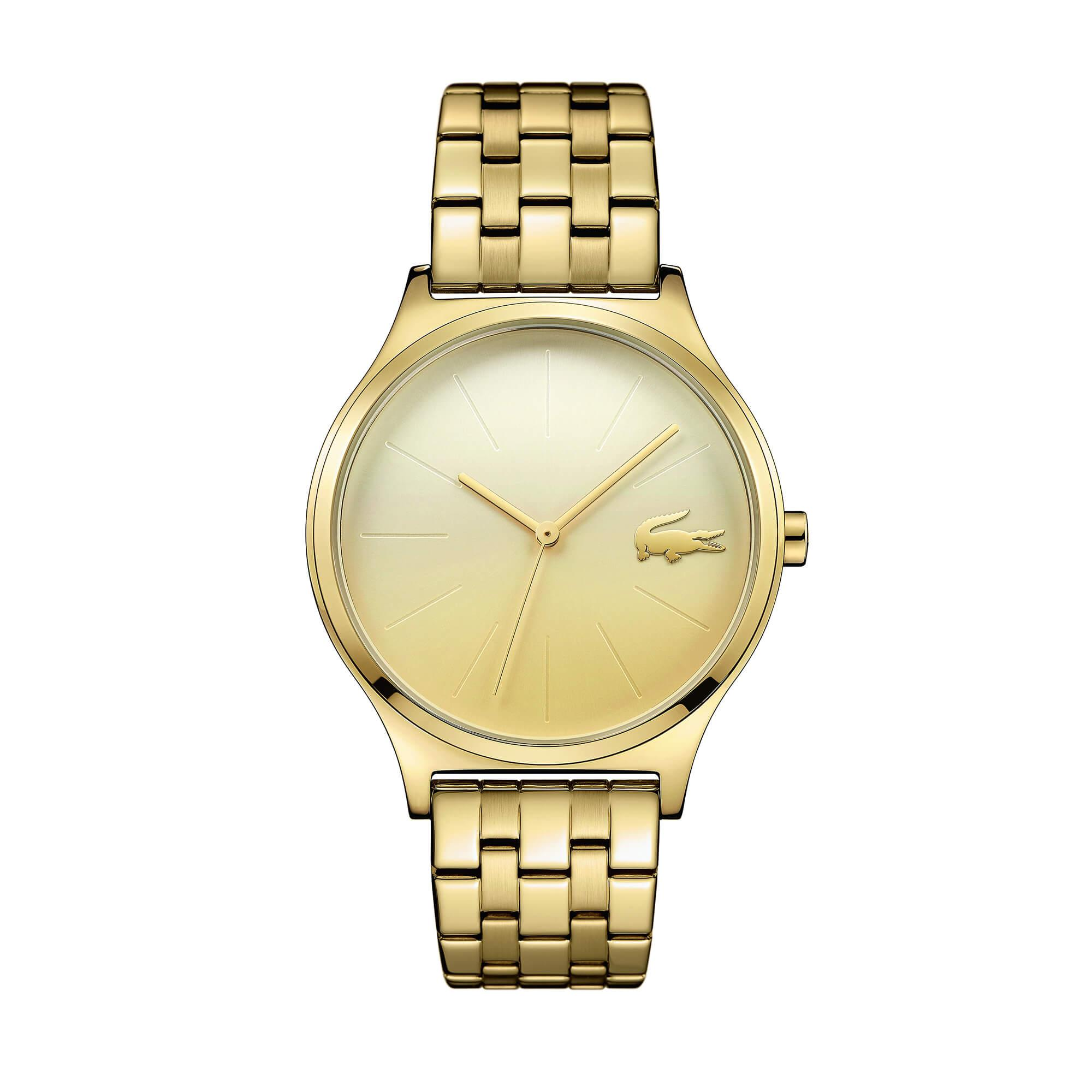 Lacoste Kadın Sarı Saat
