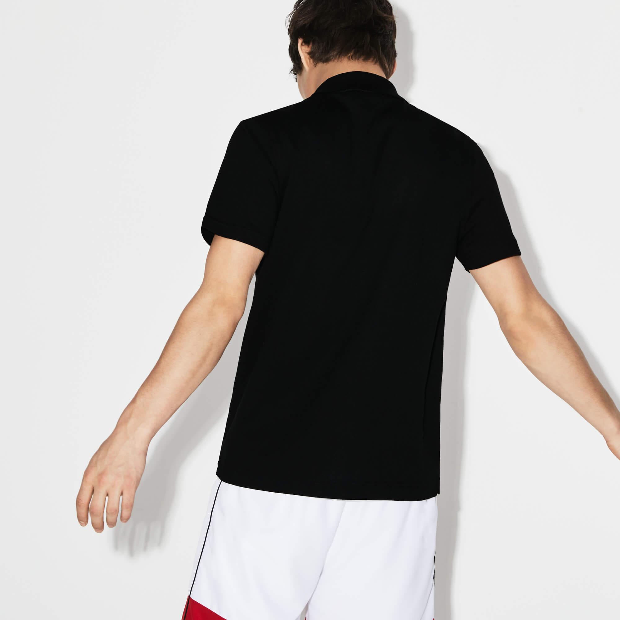 Lacoste Sport Erkek Siyah Polo