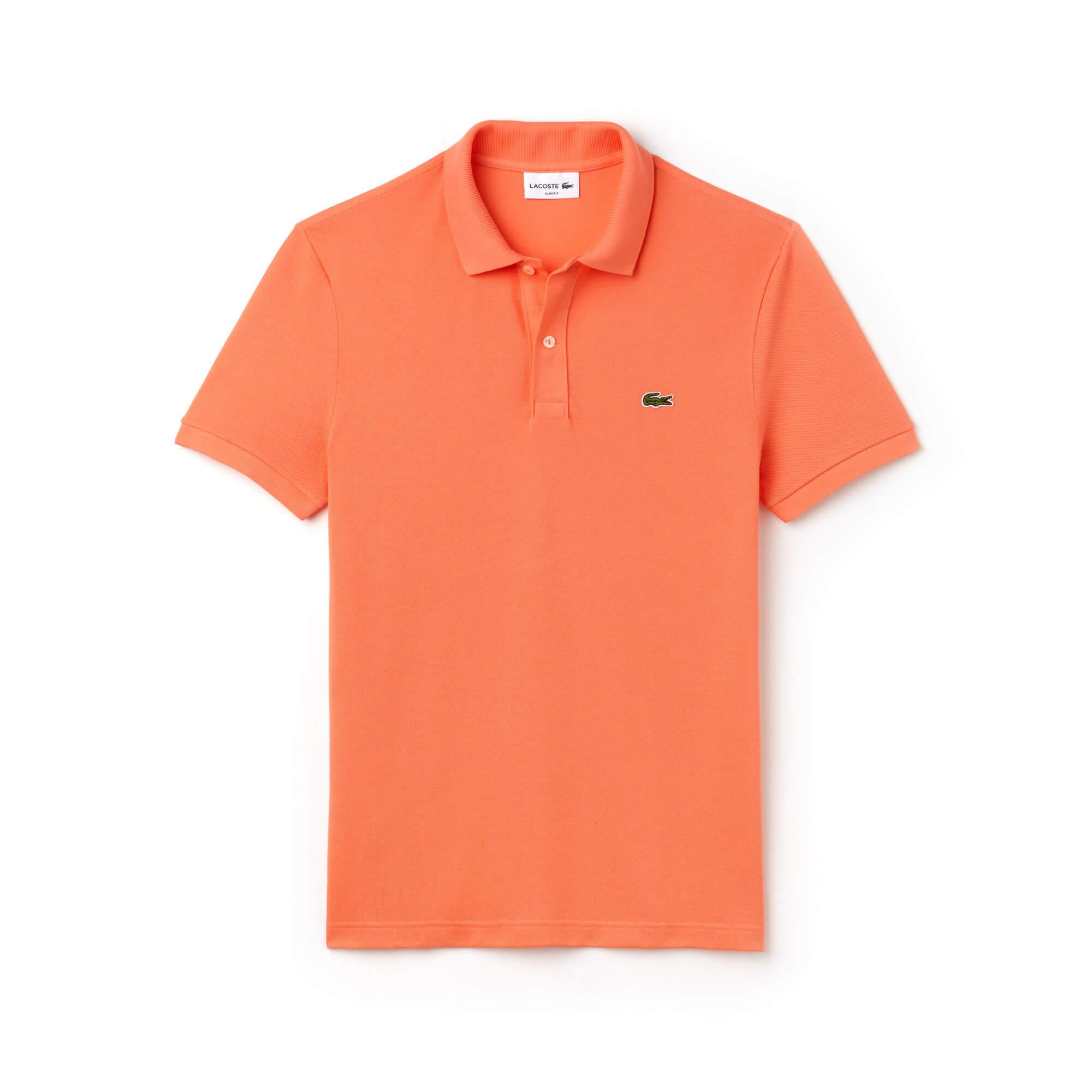 Lacoste Erkek Slim Fit Somon Polo