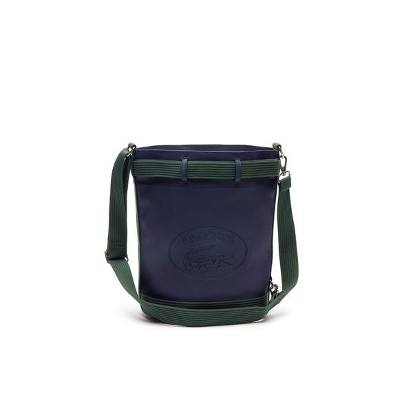 Lacoste Kadın Lacivert-Yeşil Çanta