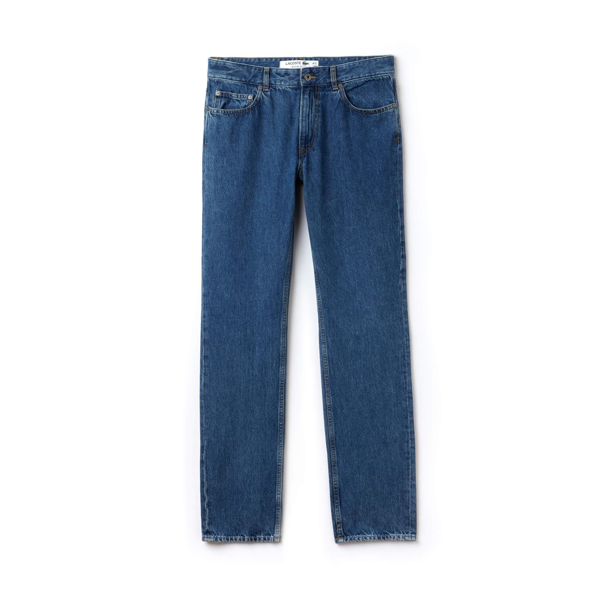 Lacoste Erkek Koton Denim Jean