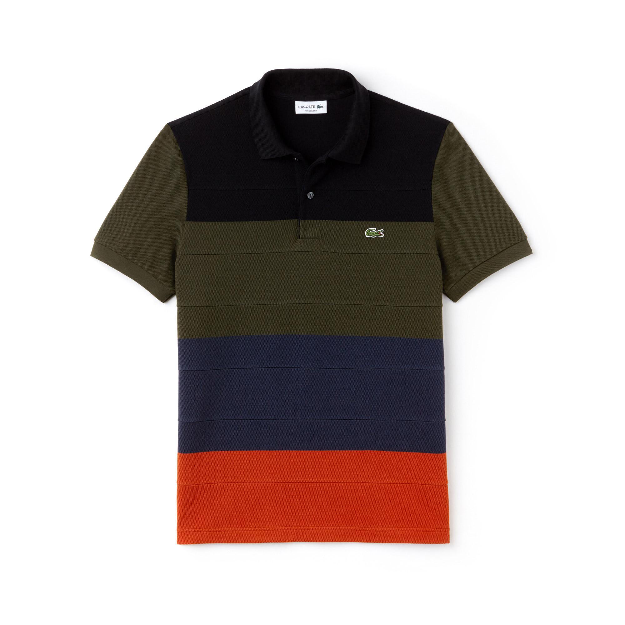 Lacoste Erkek Regular Fit Renkli Polo