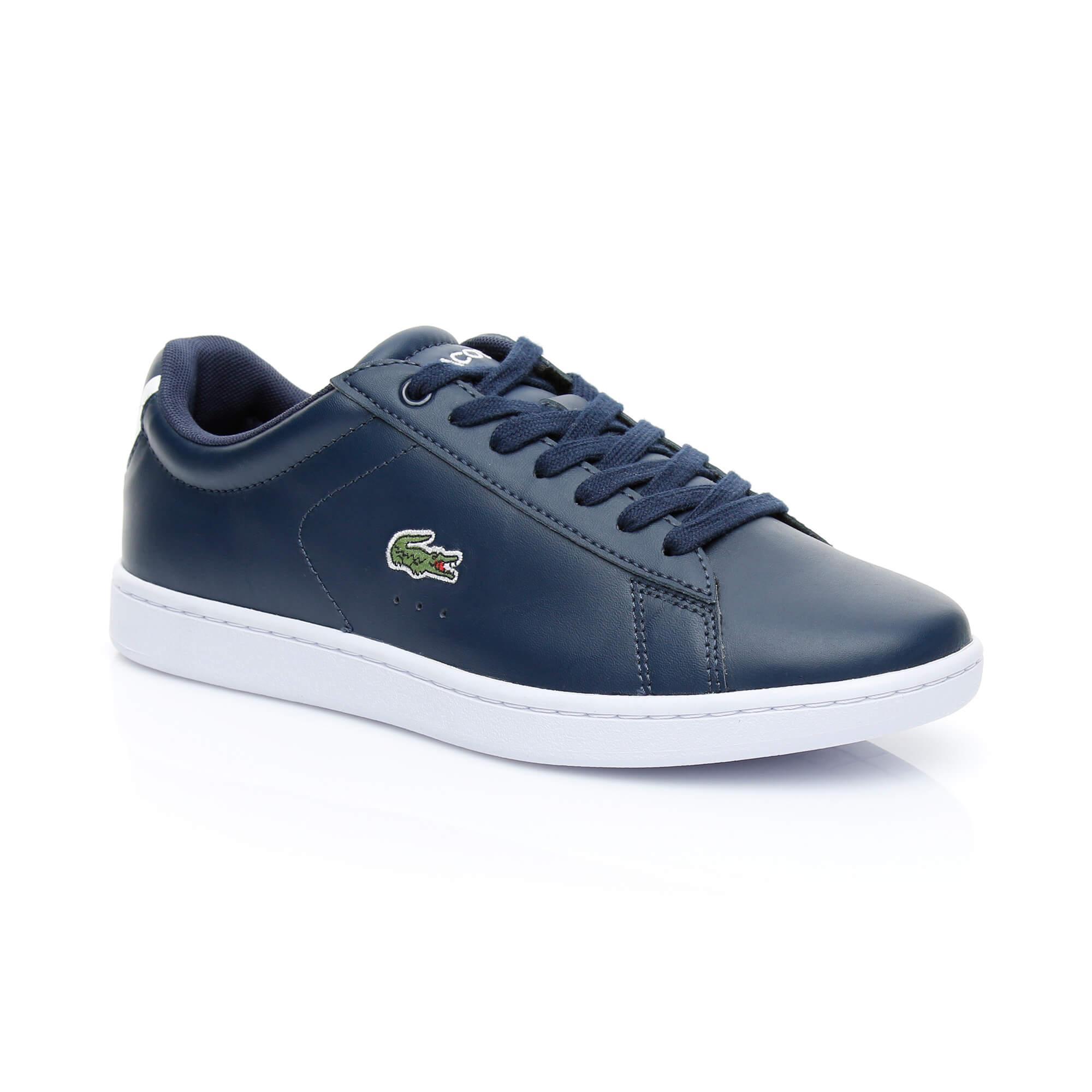 Lacoste Kadın Carnaby Evo BL 1 Lacivert Sneaker