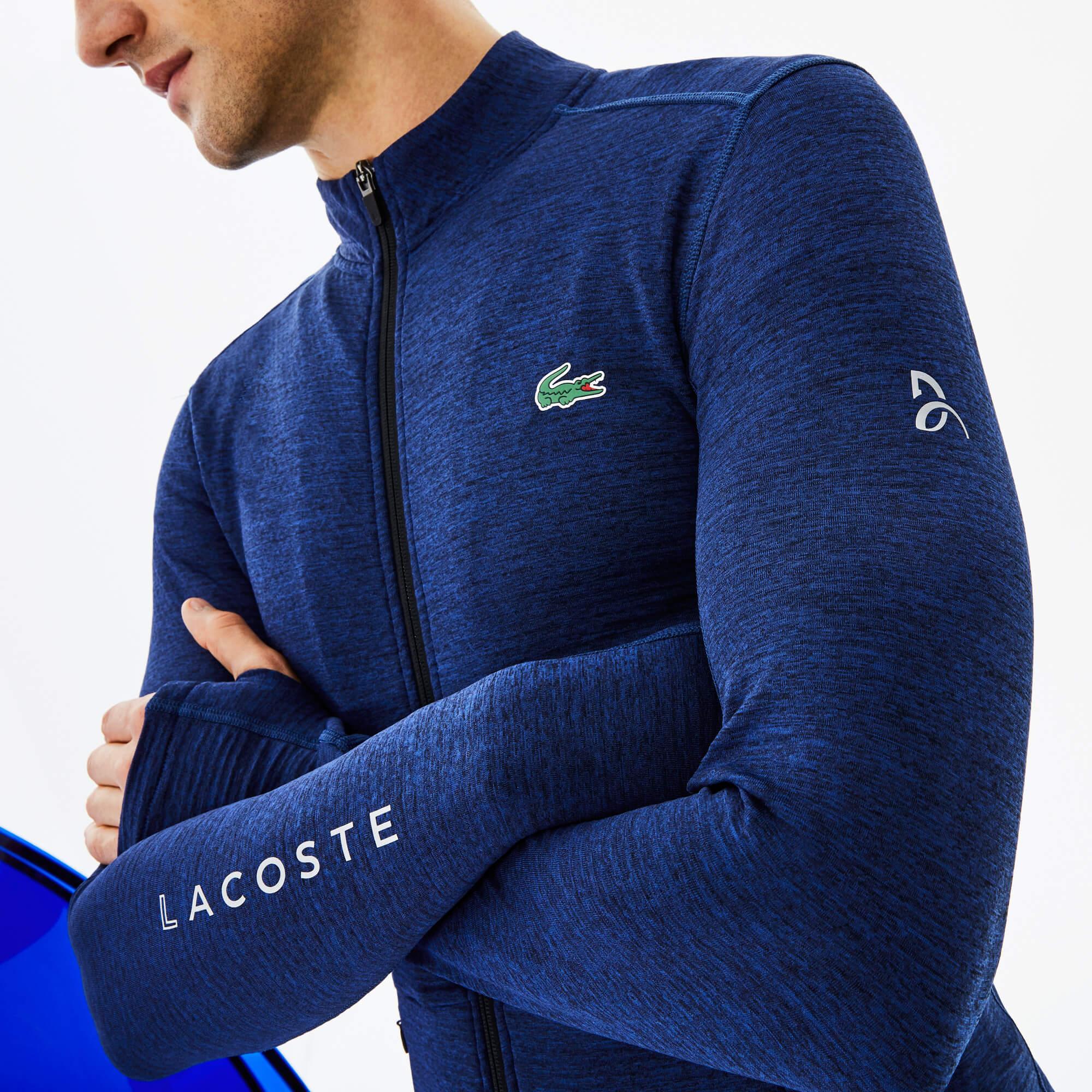 Lacoste Sport Erkek Koyu Mavi Sweatshirt