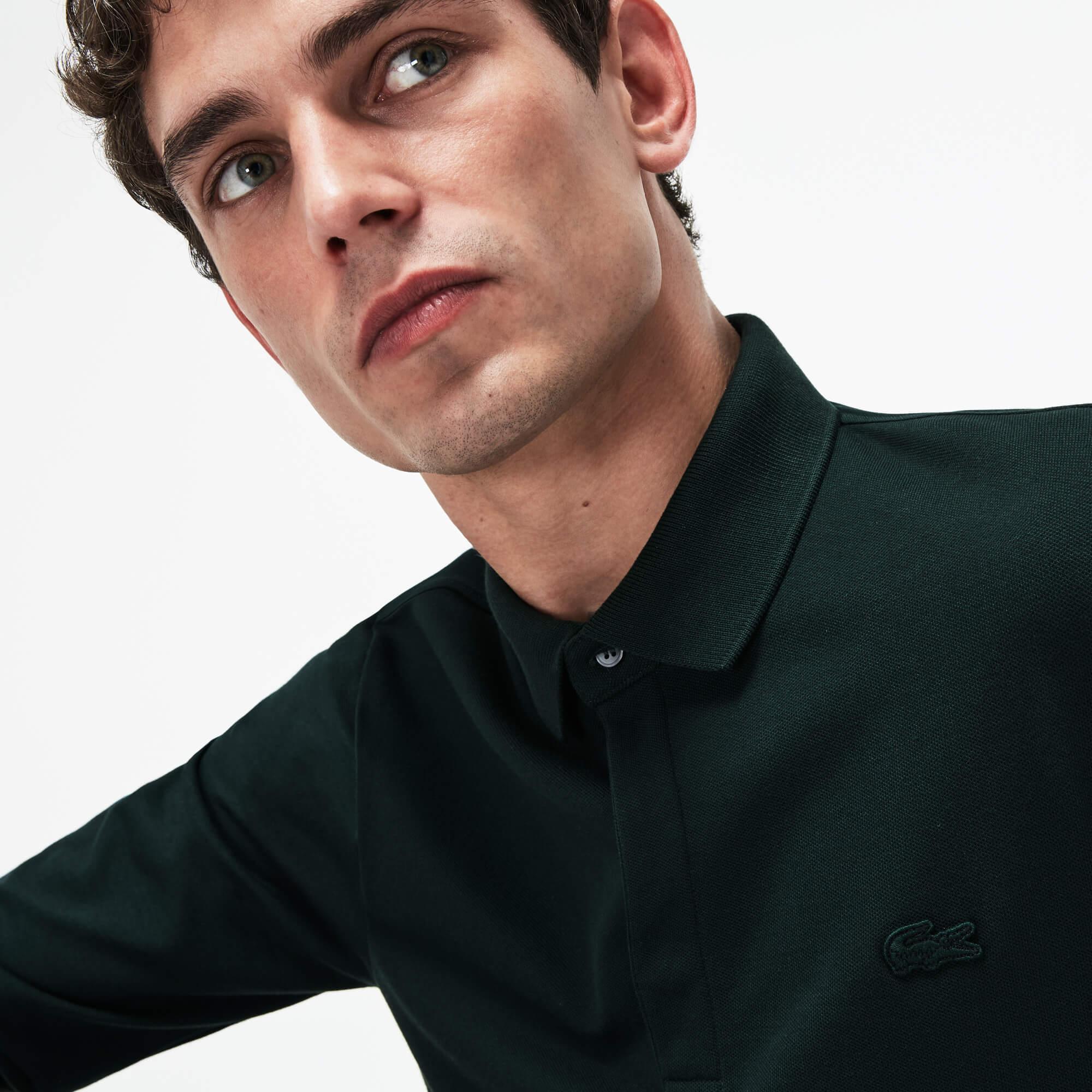 Lacoste Erkek Regular Fit Koyu Yeşil Polo