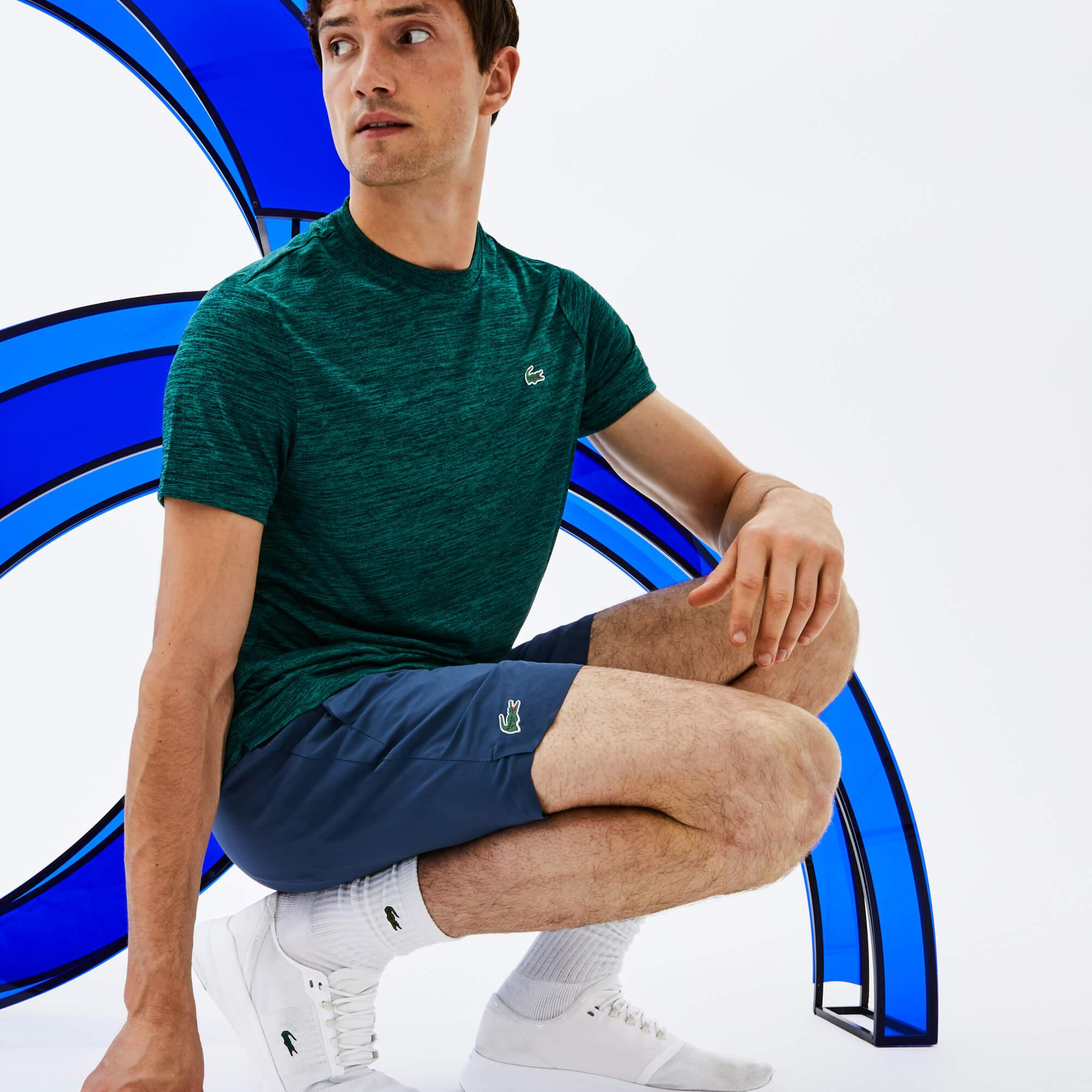 Lacoste Sport Erkek Mavi Şort