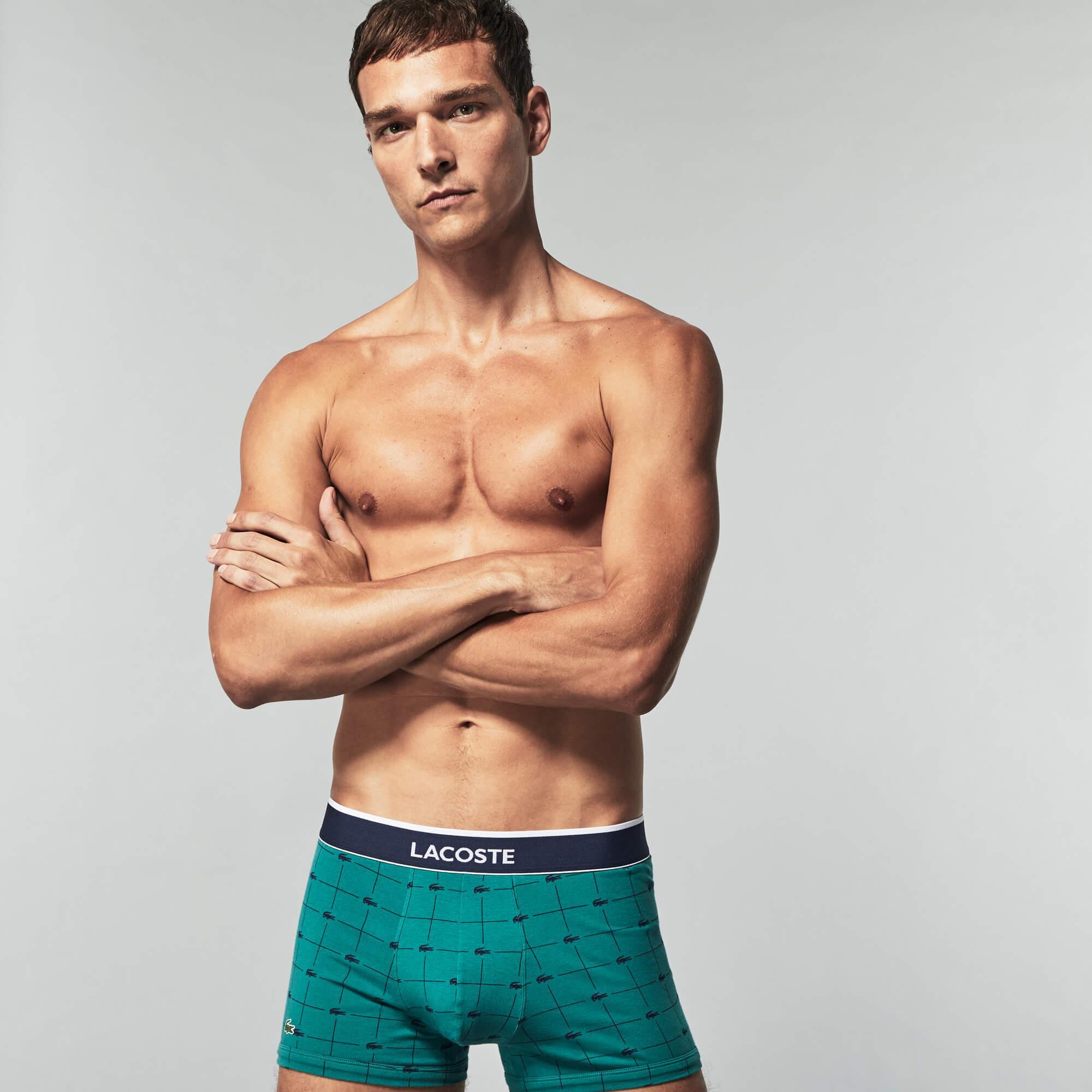 Lacoste Erkek 3'lü Boxer Seti
