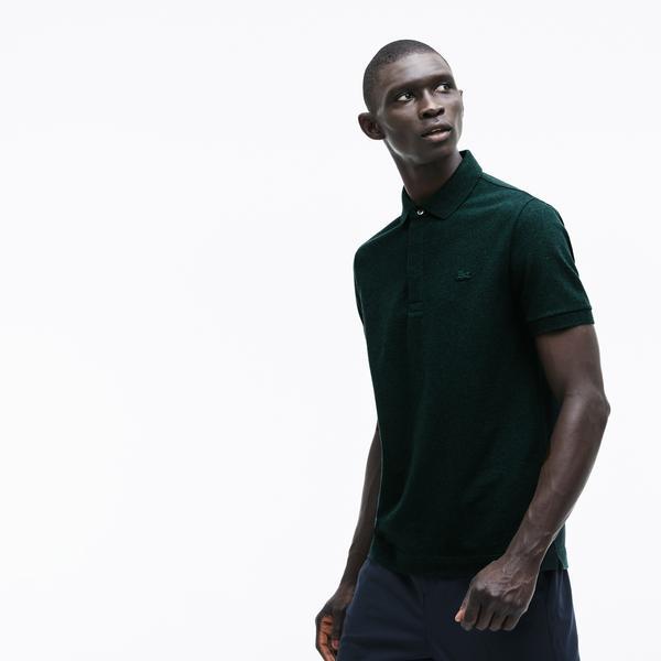 Lacoste Erkek Regular Fit Koyu Yeşil Paris Polo