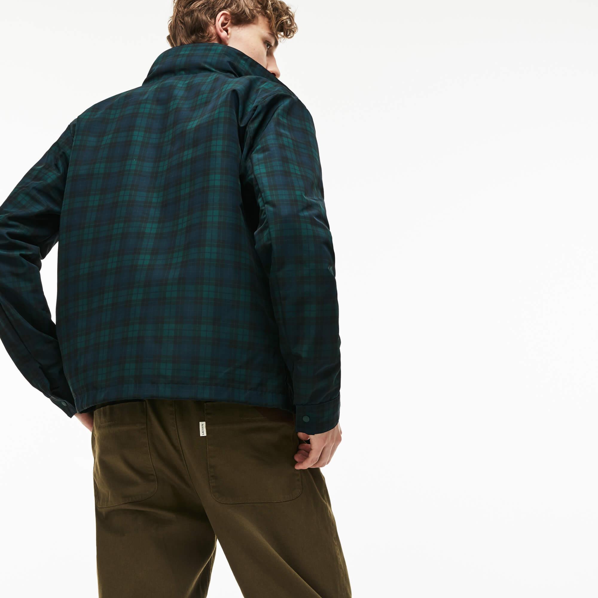 Lacoste Erkek Lacivert-Yeşil Mont