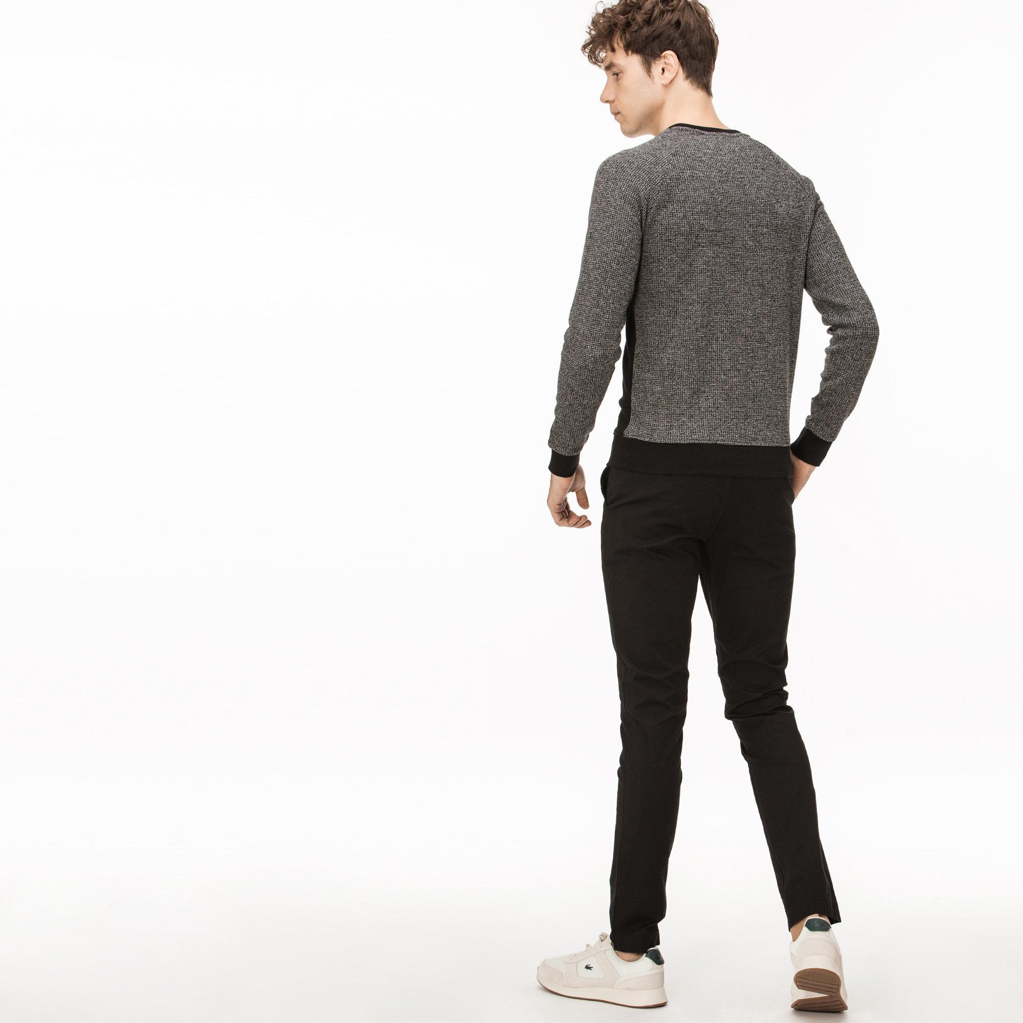Lacoste Erkek Slim Fit Streç Gabardin Siyah Chino Pantolon