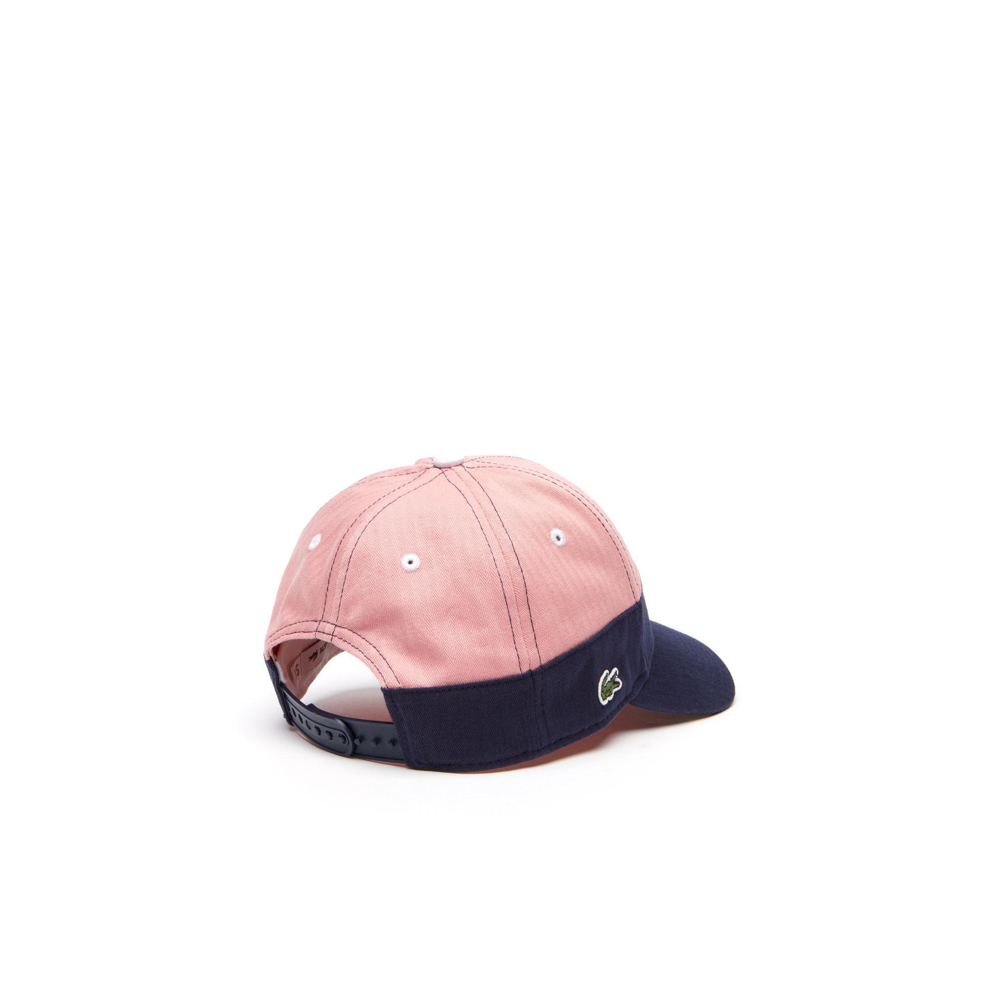 Lacoste Lacivert-Pembe Şapka