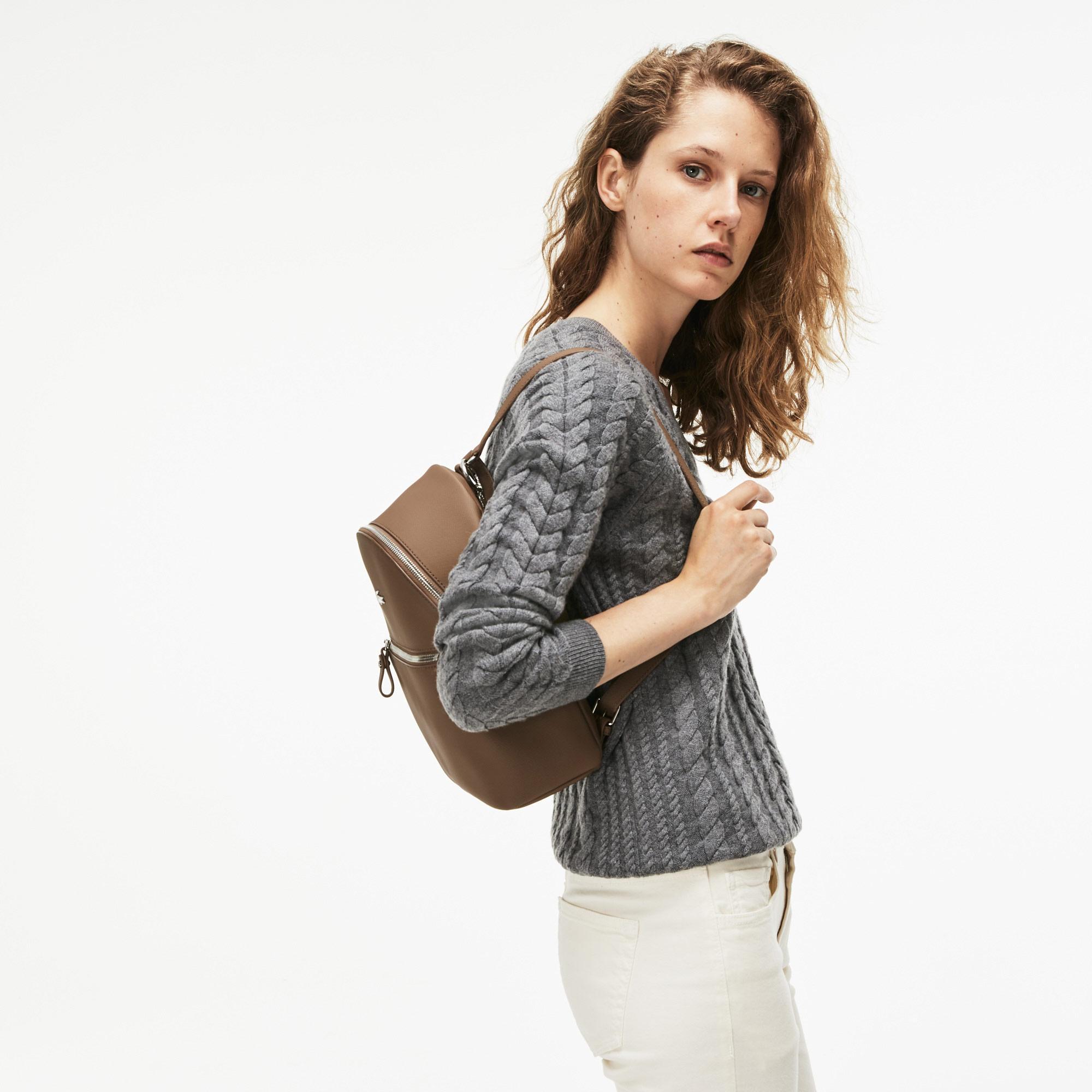 Lacoste Kadın Vizon Rengi Sırt Çantası