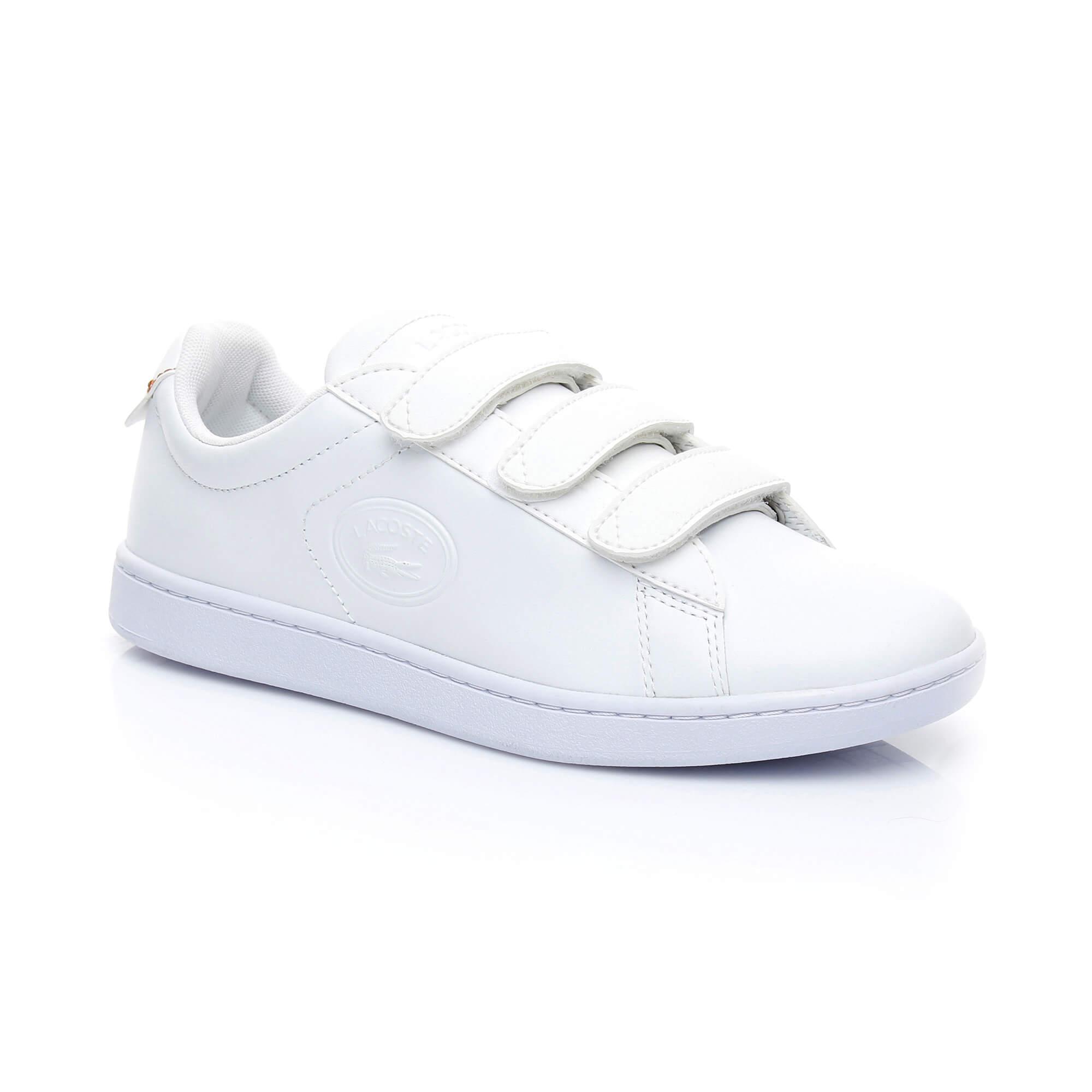 Lacoste Kadın Carnaby Evo Strap 3181 Beyaz Sneaker