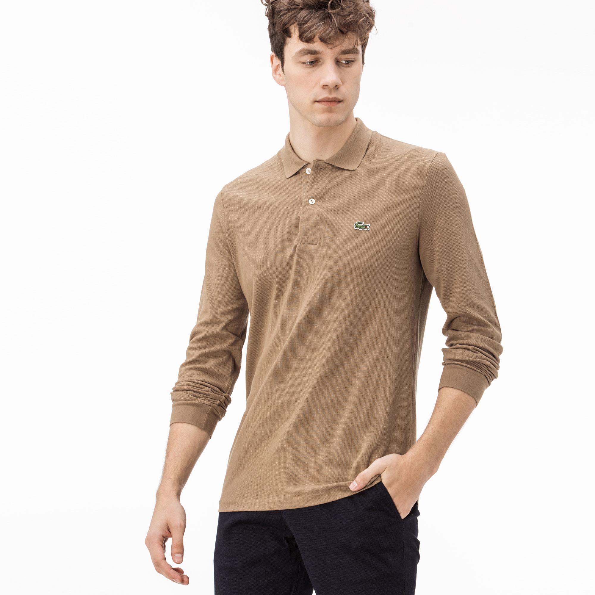 Lacoste Erkek L1312 Kahverengi Polo