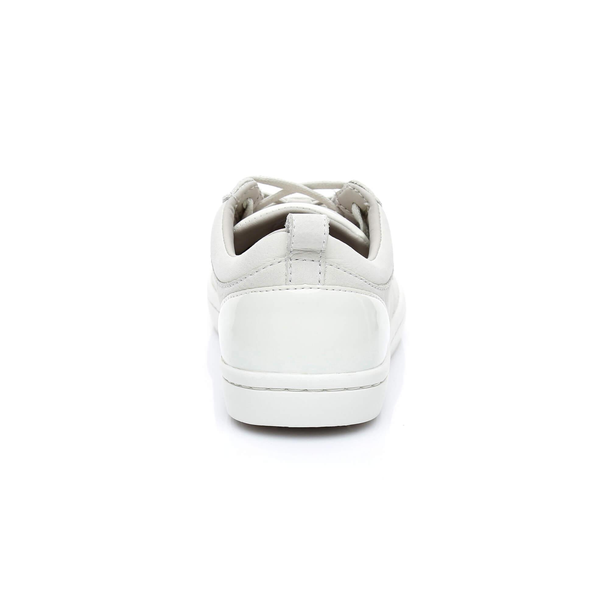 Lacoste Kadın Straightset 318 1 Bej Sneaker