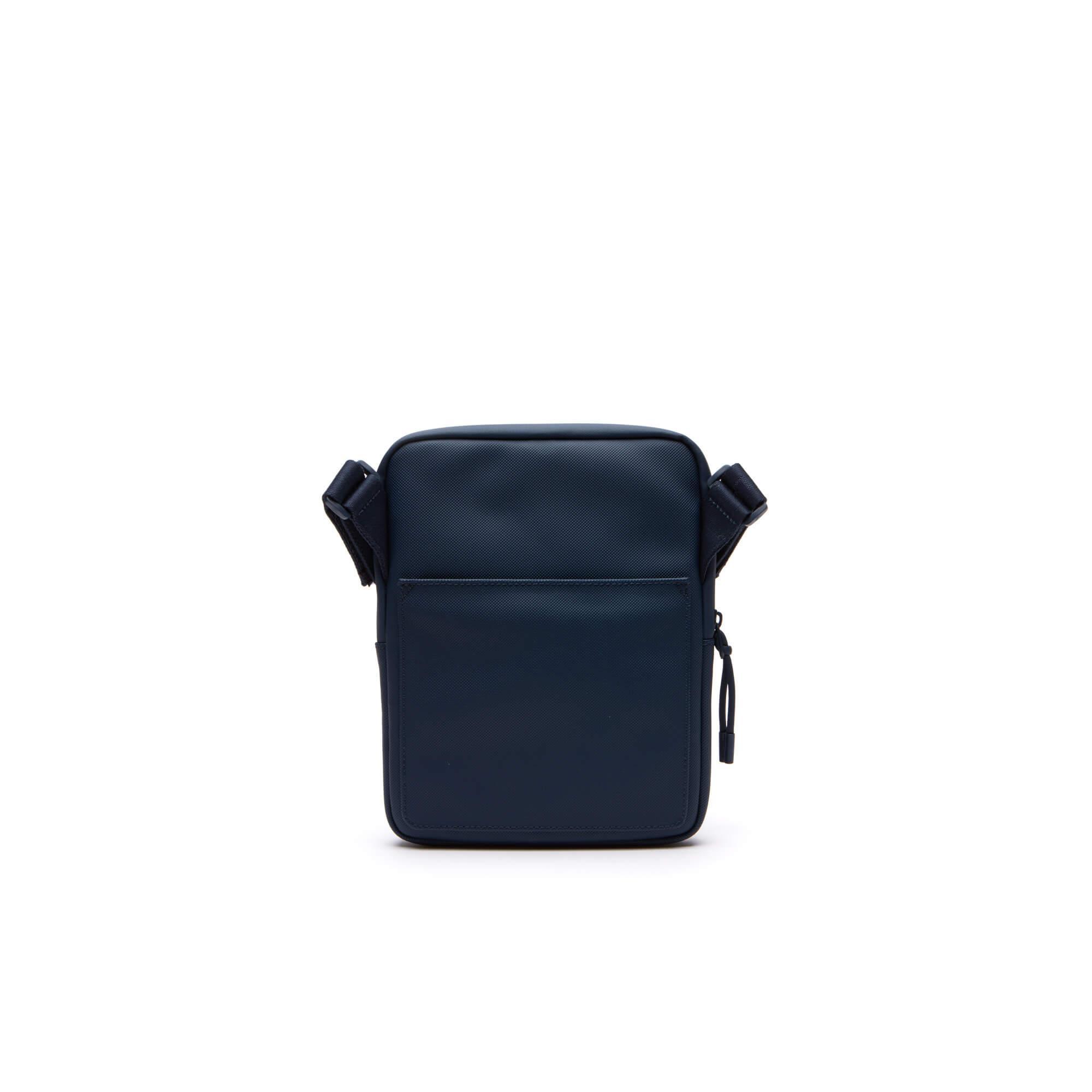 Lacoste Erkek L.12.12 Concept Mavi Kamera Çantası