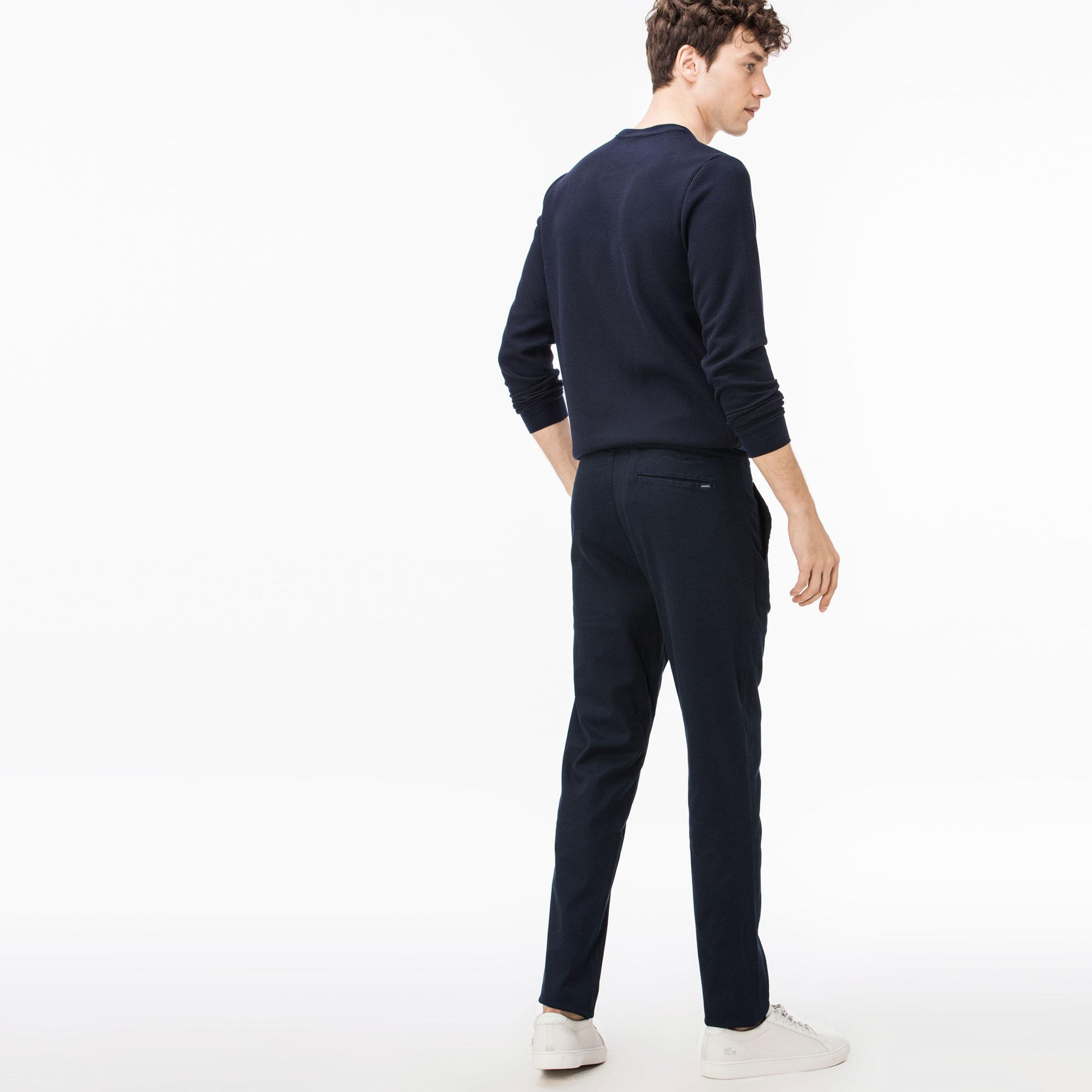 Lacoste Erkek Lacivert Gabardin Pantolon