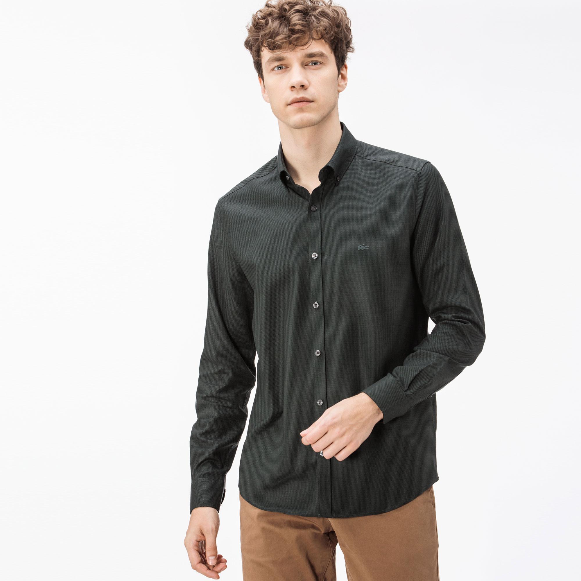 Lacoste Erkek Slim Fit Gömlek