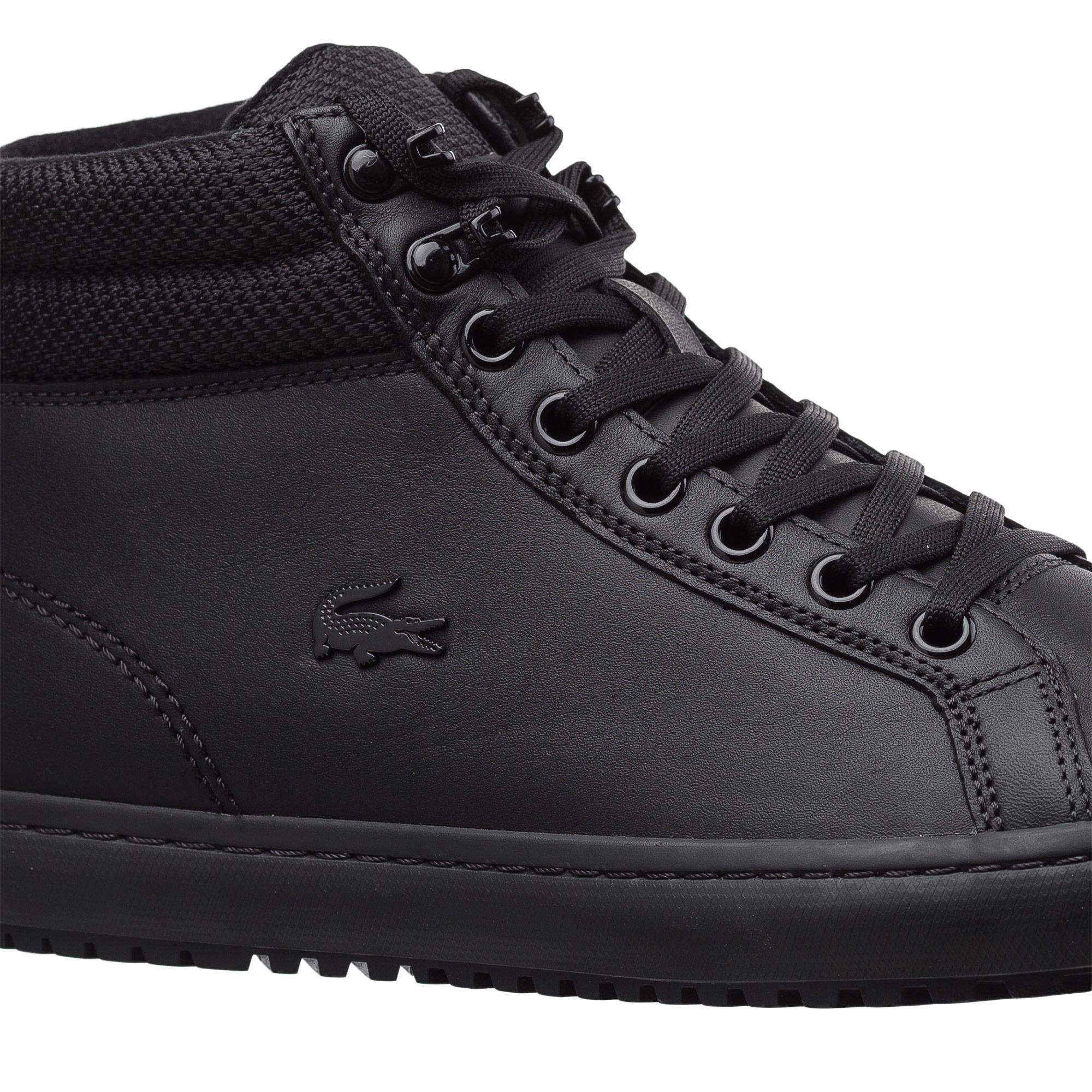 Lacoste Kadın Straightset Insulatec3181 Siyah Sneaker