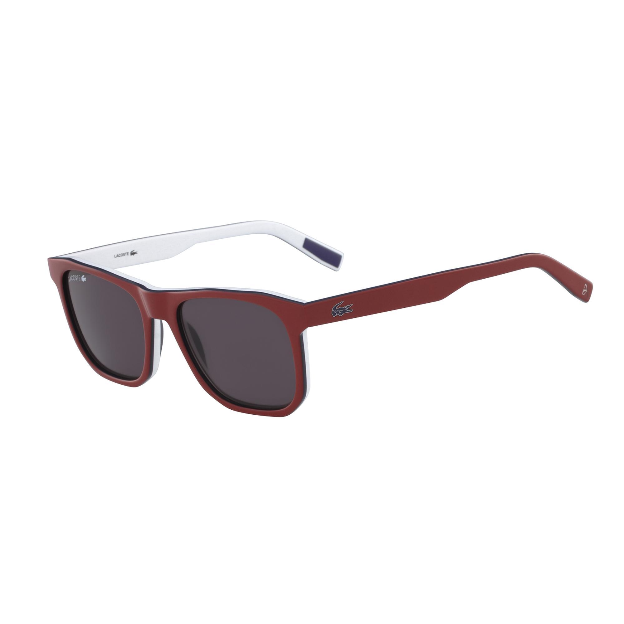 Lacoste Unisex Kırmızı Güneş Gözlüğü