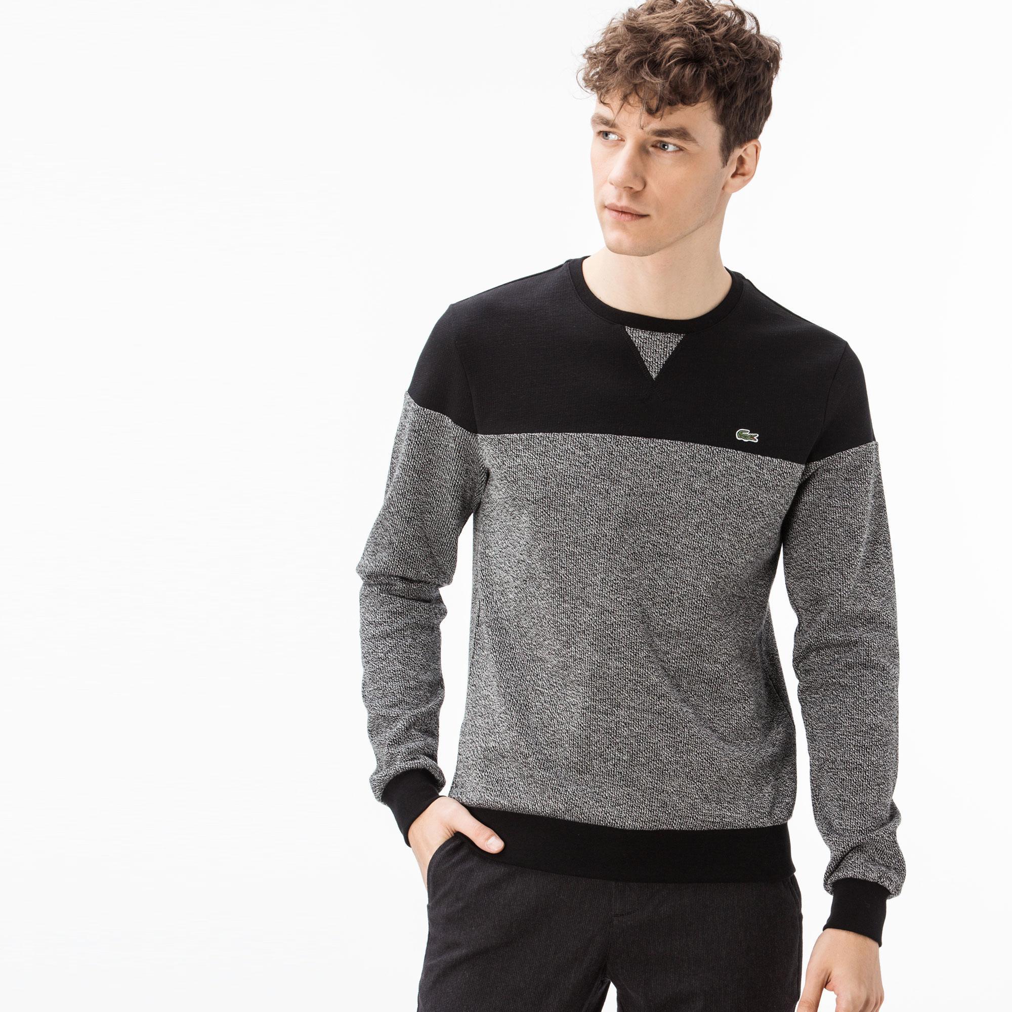 Lacoste Erkek Siyah-Gri T-Shirt