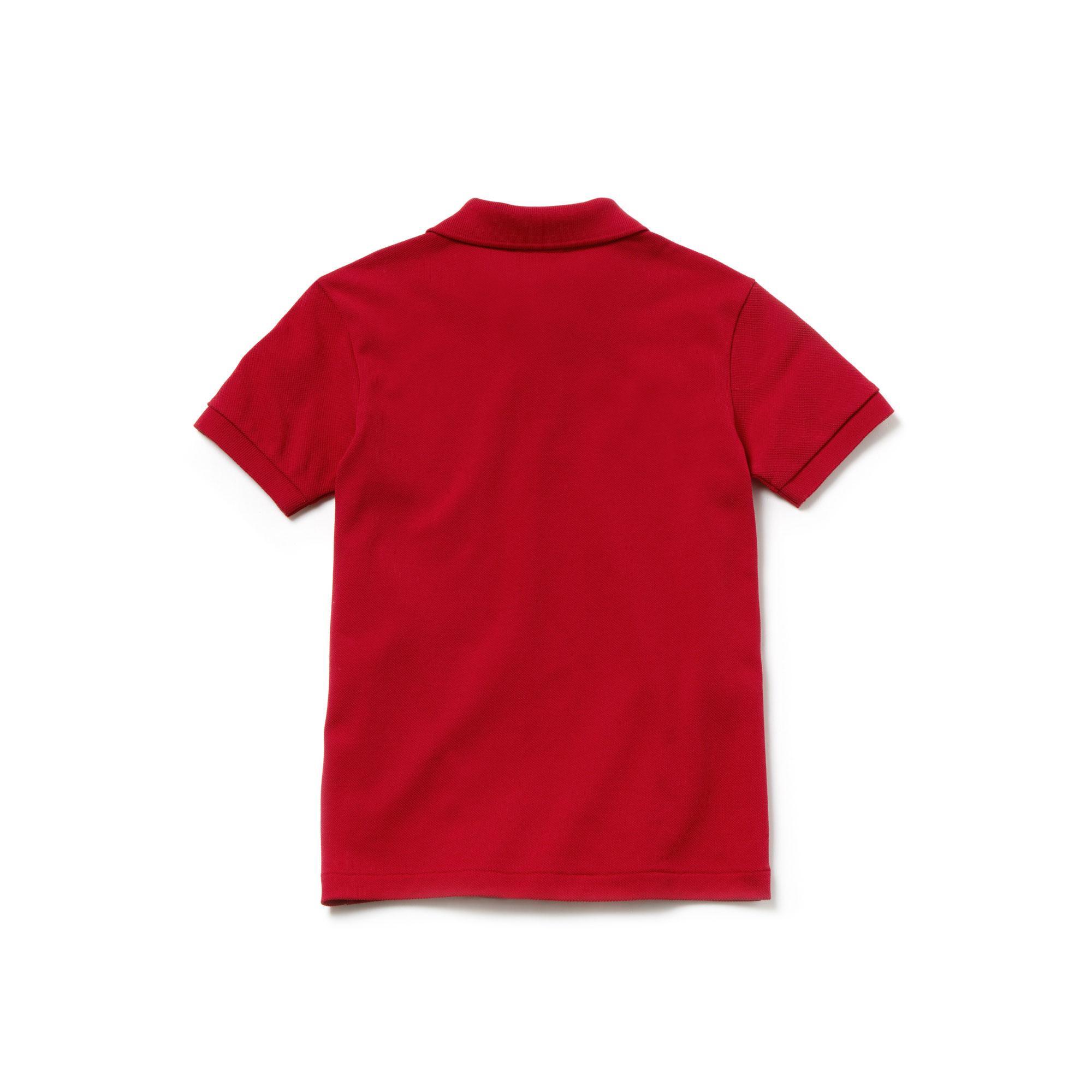 Lacoste x Disney Çocuk Kırmızı Polo