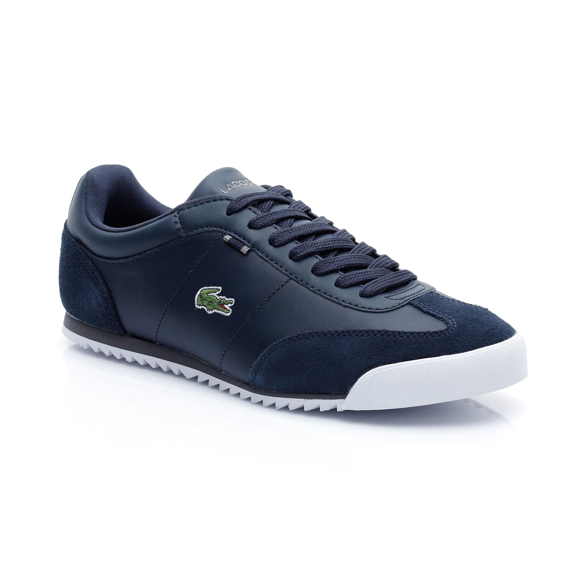 Lacoste Erkek Romeau HTB Lacivert Sneaker