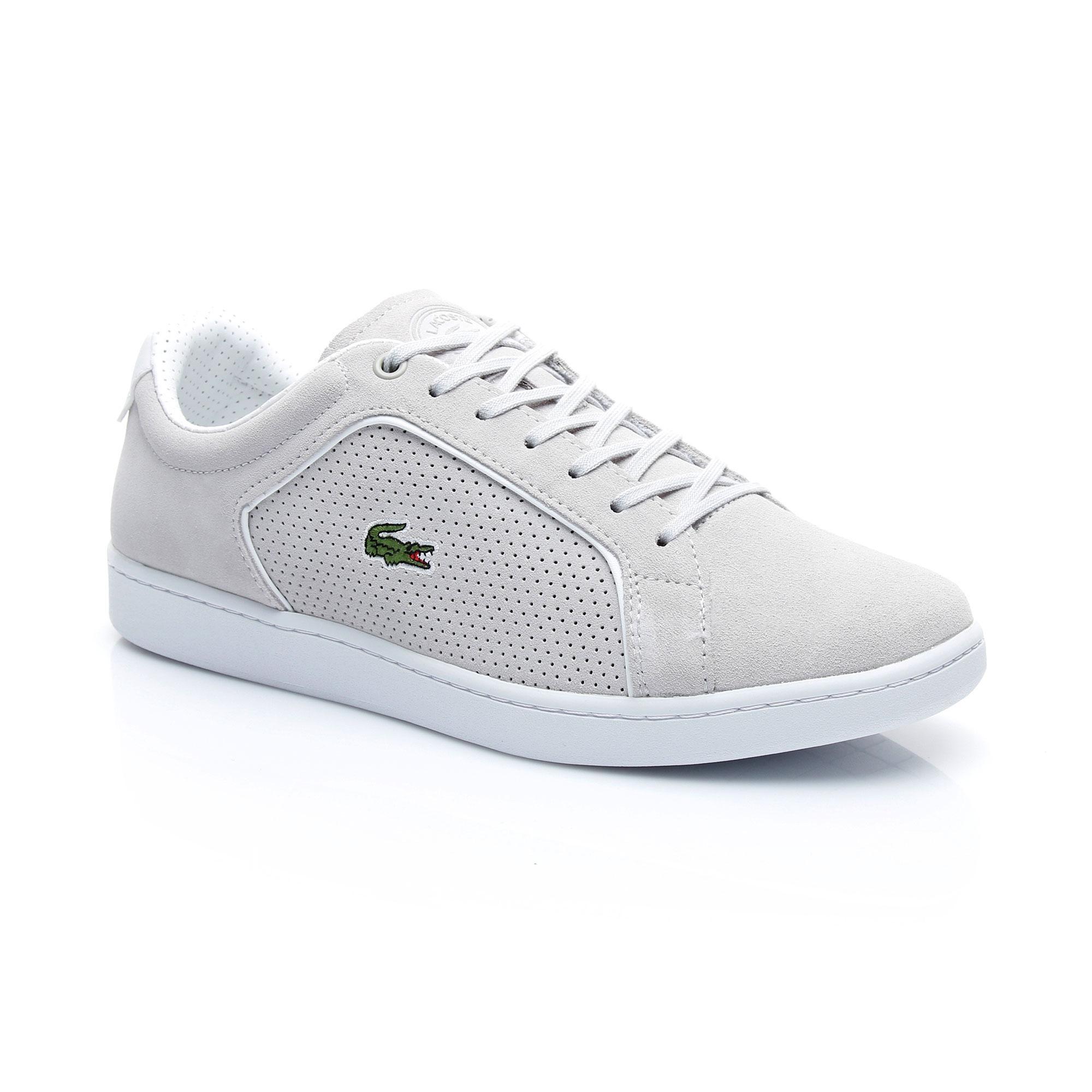 Lacoste Erkek Carnaby Evo 318 9 Açık Gri Sneaker