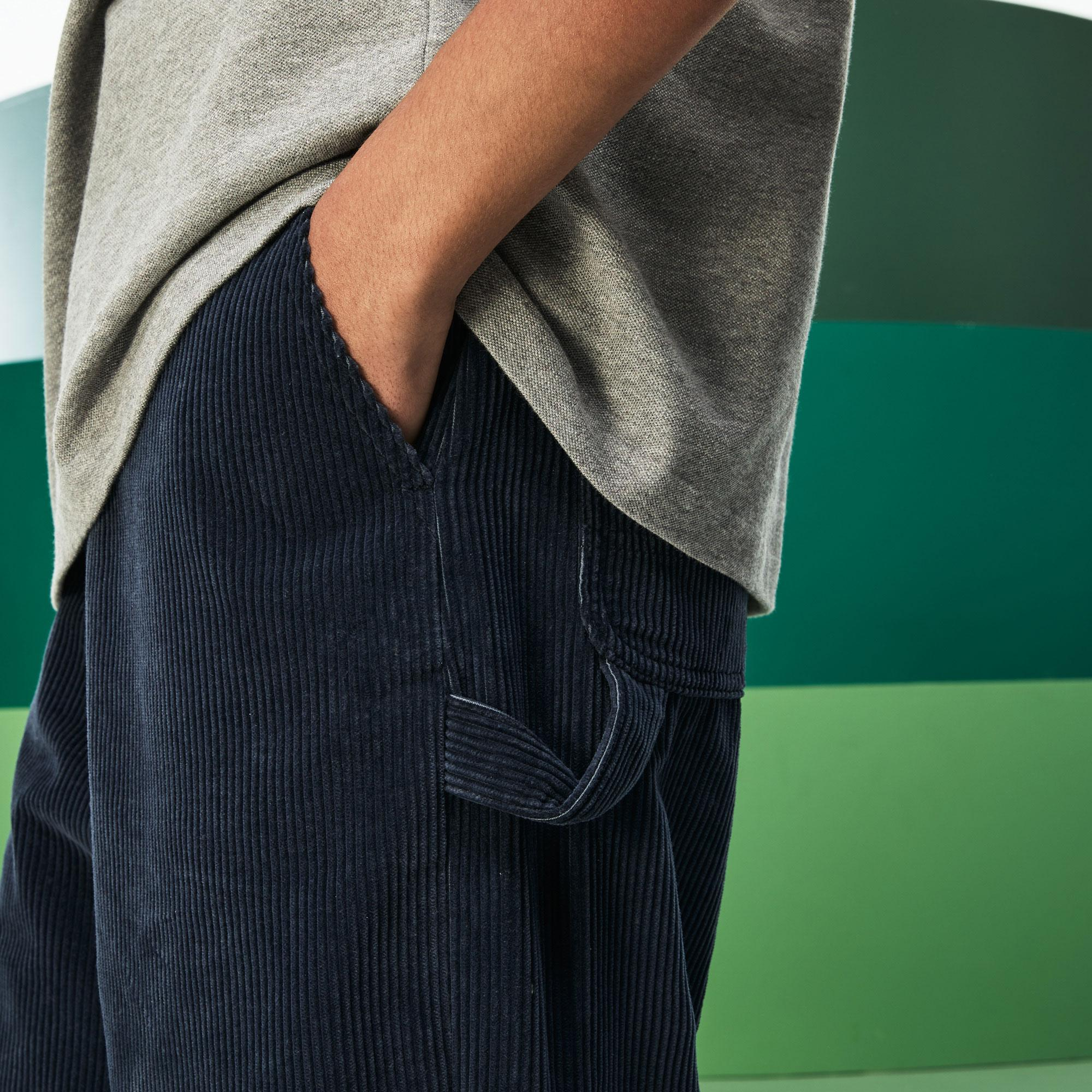 Lacoste Fashion Show Erkek Lacivert Pantolon