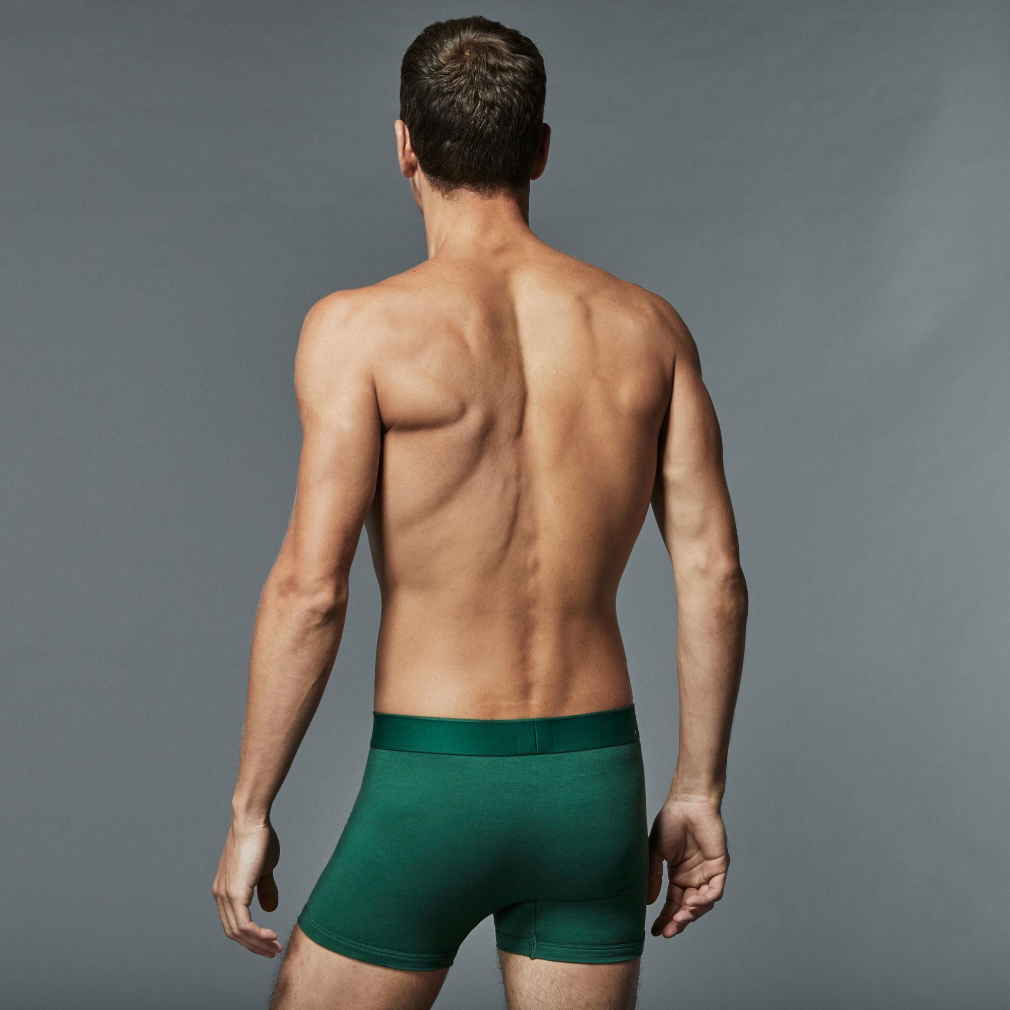 Lacoste Erkek 2'li Paket Beyaz - Yeşil Boxer