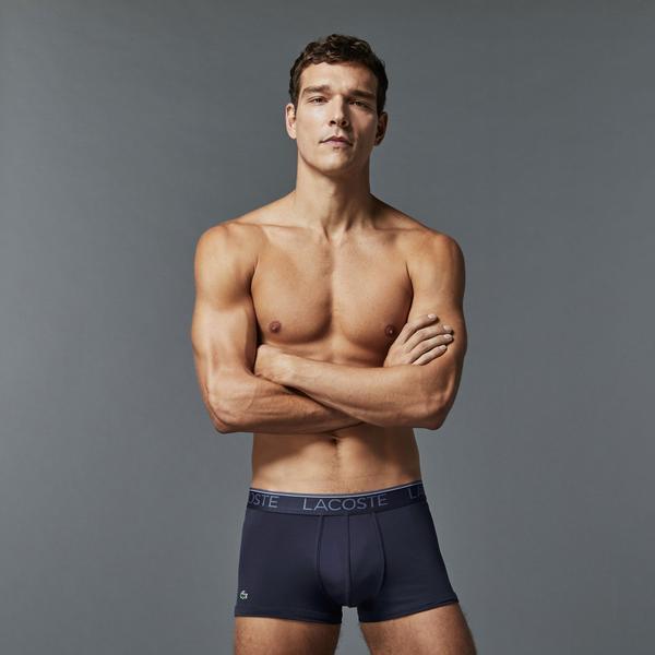 Lacoste Erkek Mavi Boxer