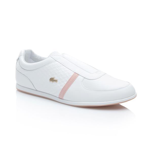 Lacoste Kadın Rey Slip 318 1 Beyaz Sneaker