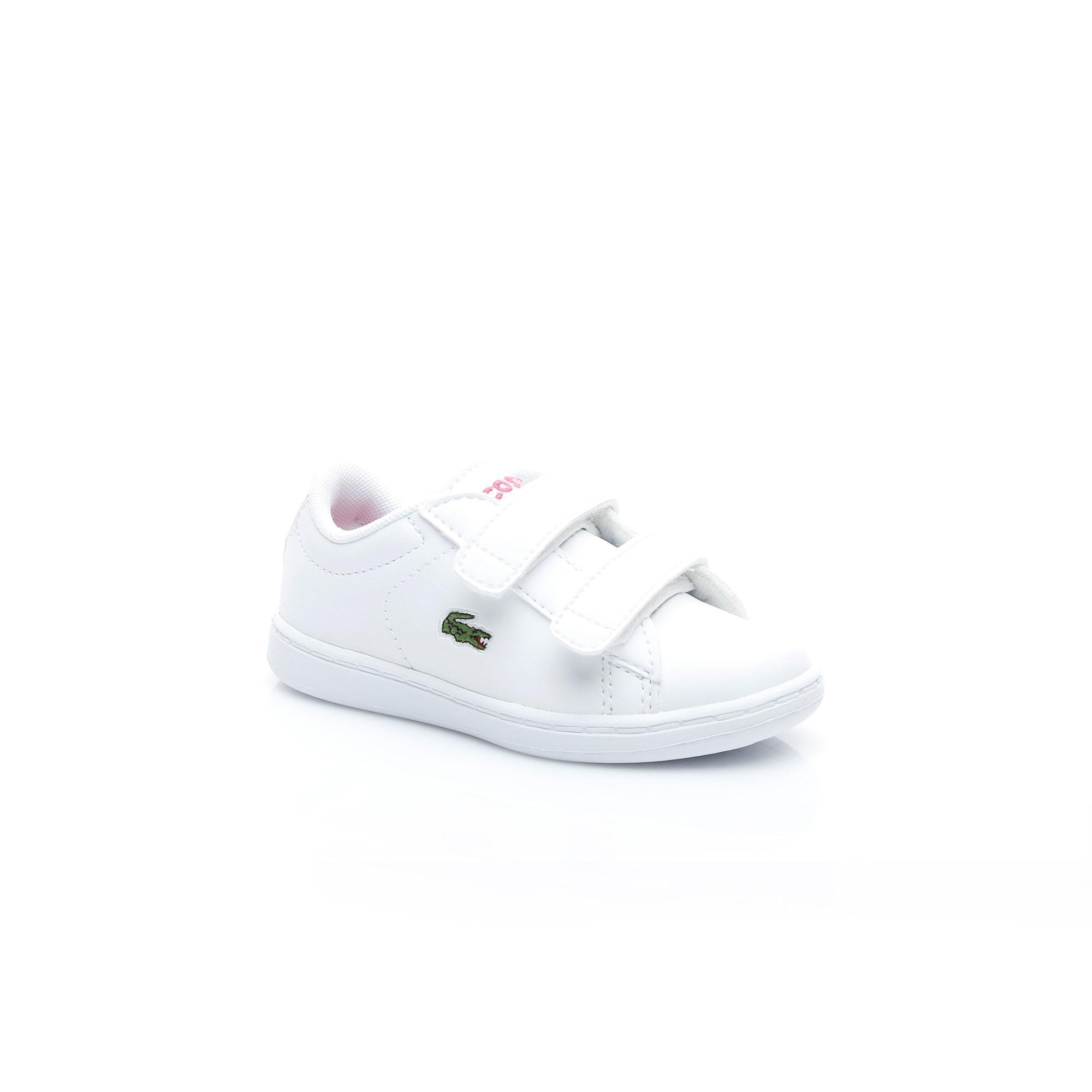 Lacoste Çocuk Carnaby Evo BL 1 Beyaz Sneaker