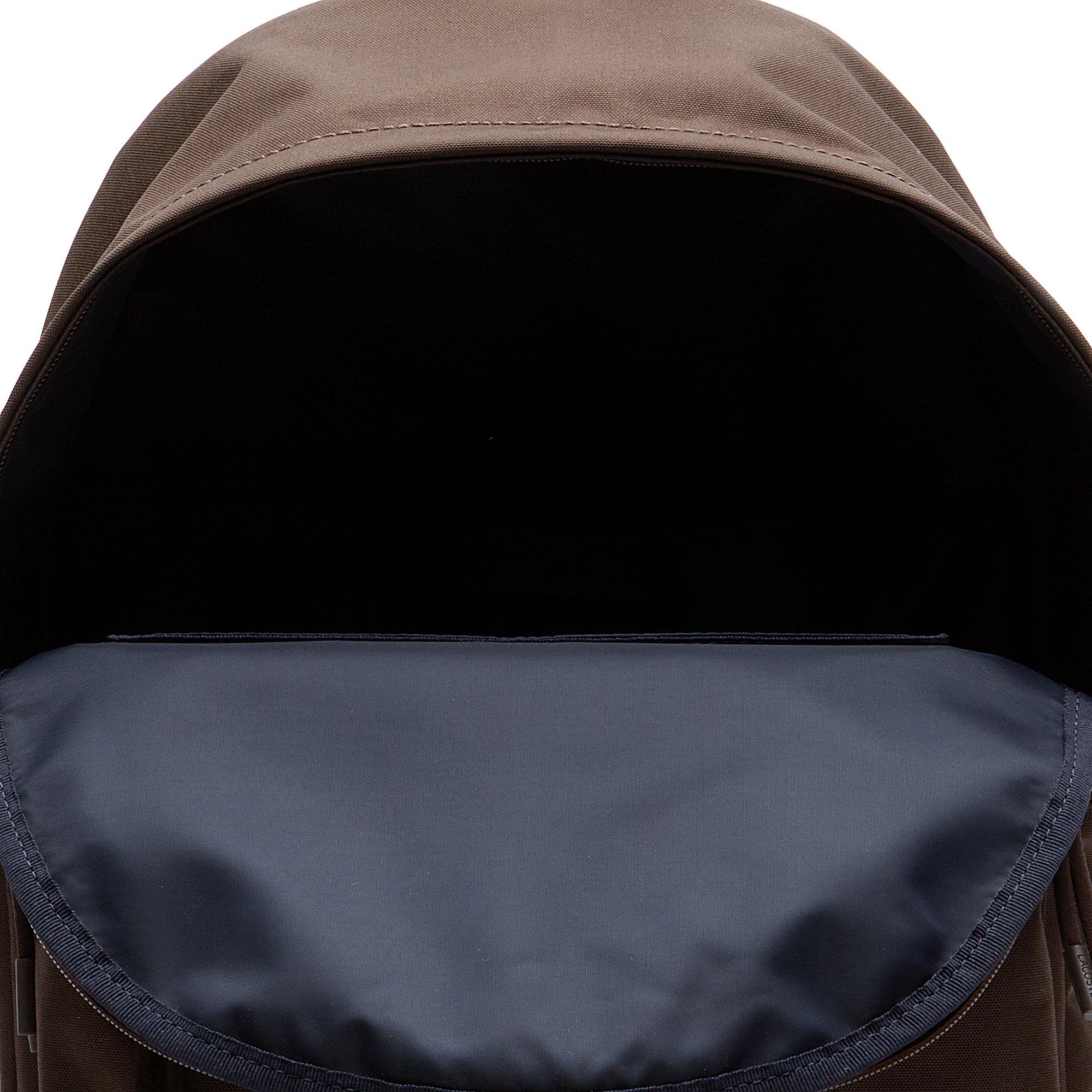 Lacoste Unisex Kahverengi Sırt Çantası