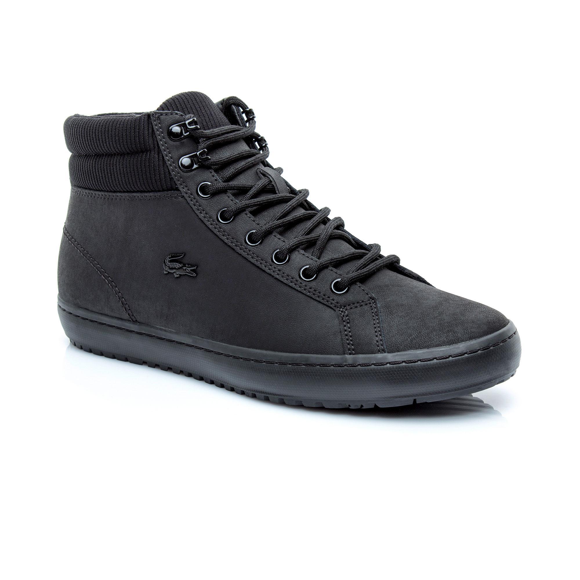 Lacoste Erkek Straightset Insulac 3181 Siyah Sneaker