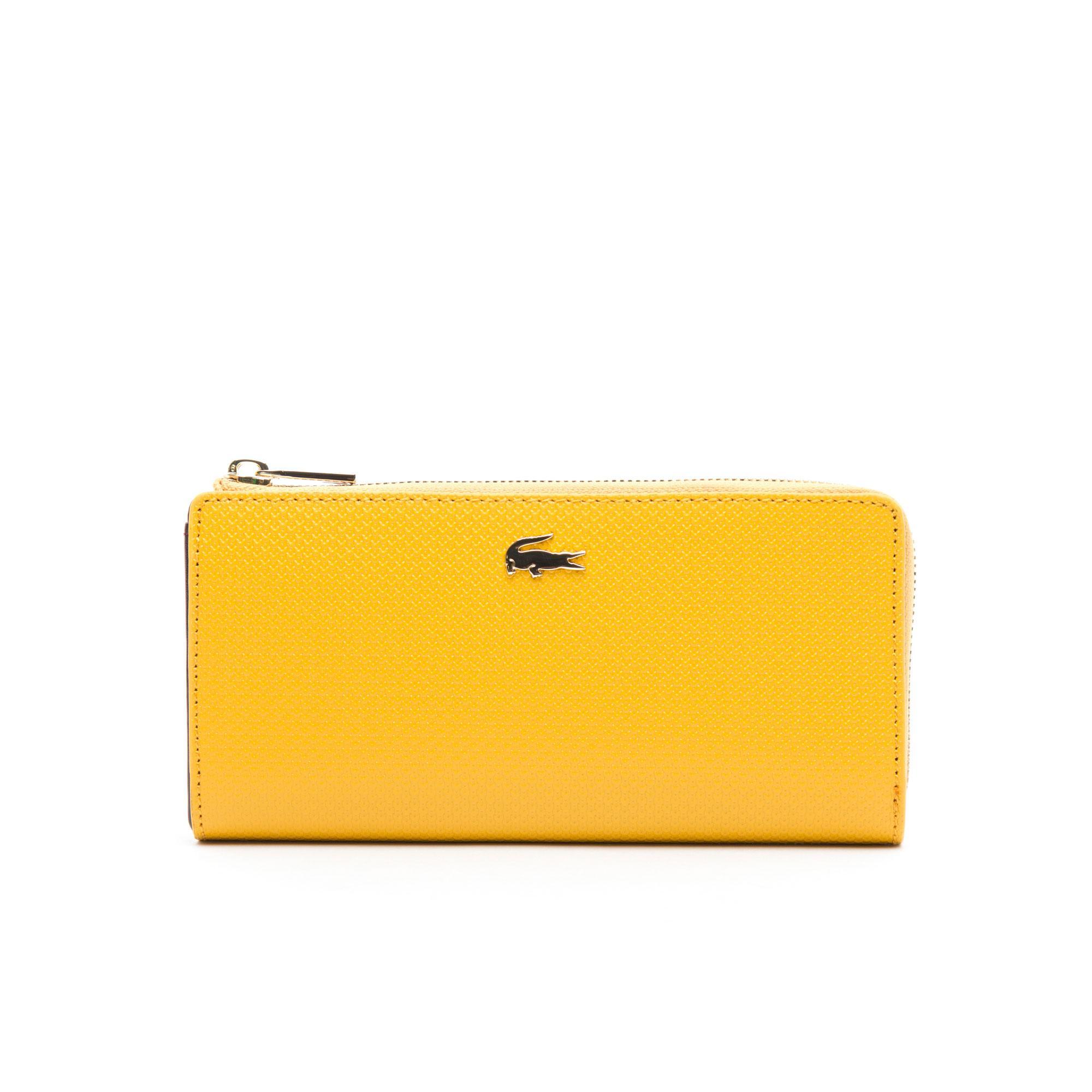 Lacoste Kadın Sarı Cüzdan