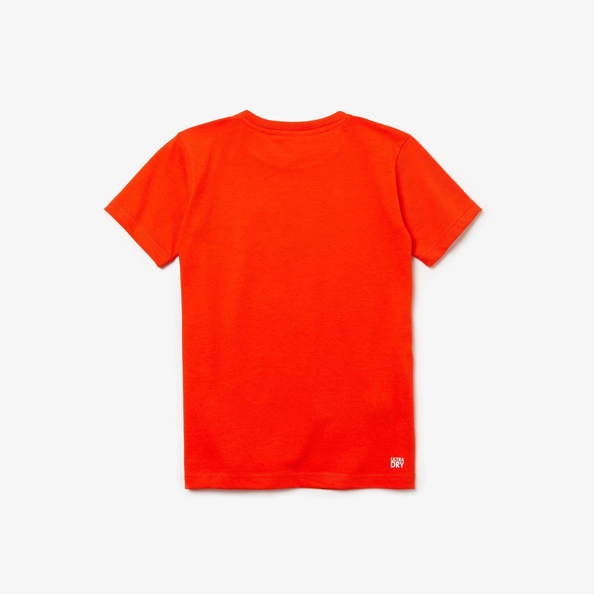 Lacoste Sport Çocuk Kırmızı T-Shirt