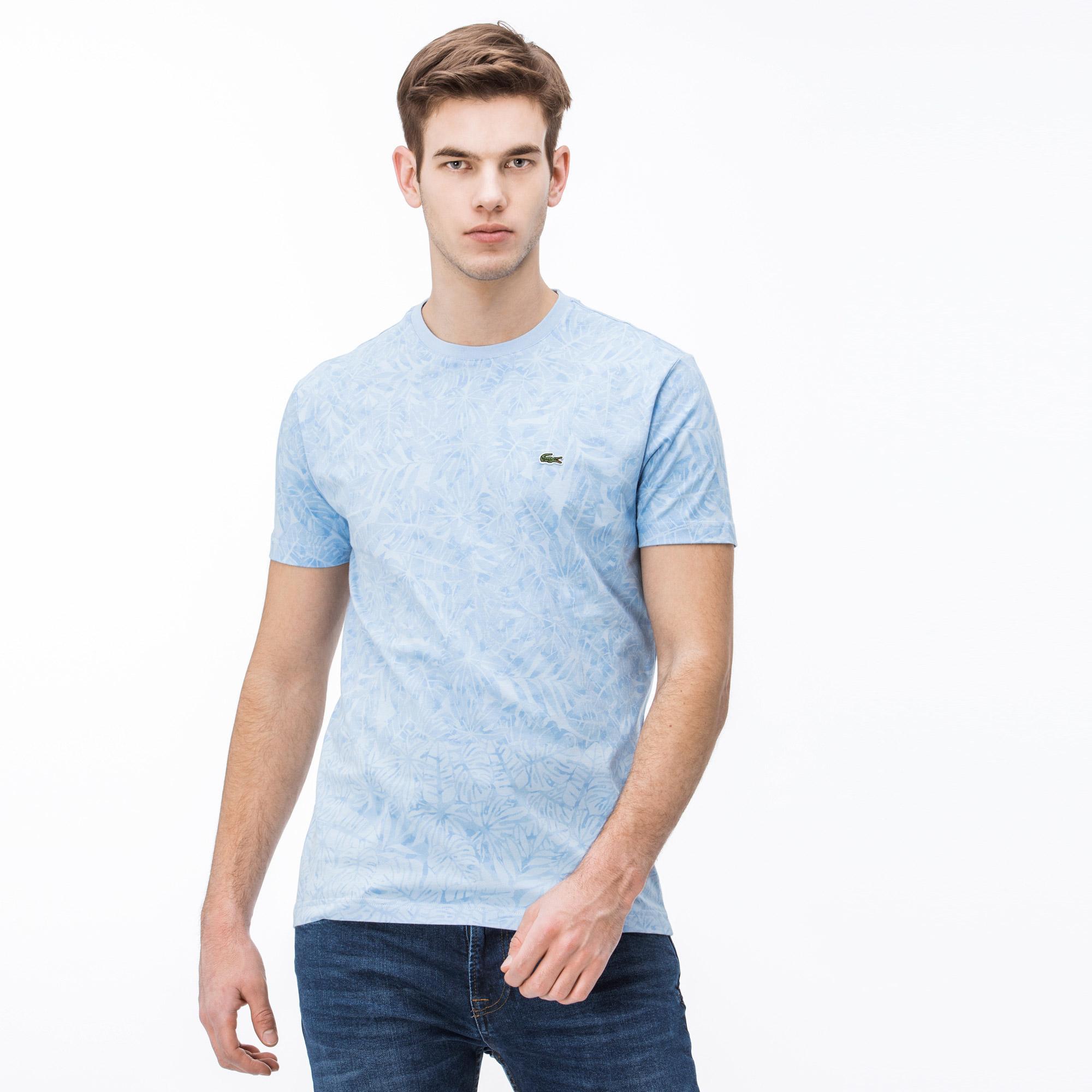 Lacoste Erkek Slim Fit Bej T-Shirt