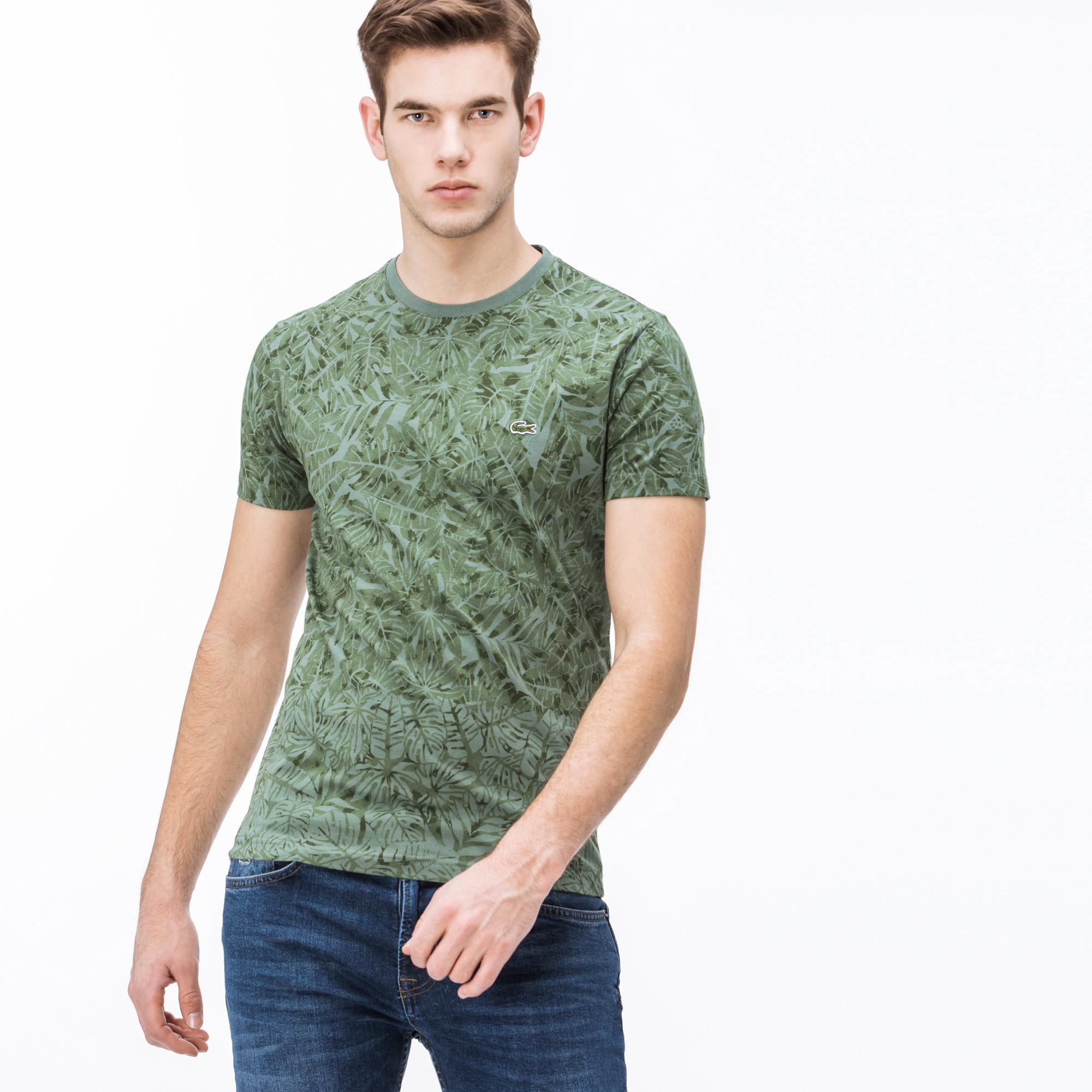 Lacoste Erkek Slim Fit Yeşil T-Shirt