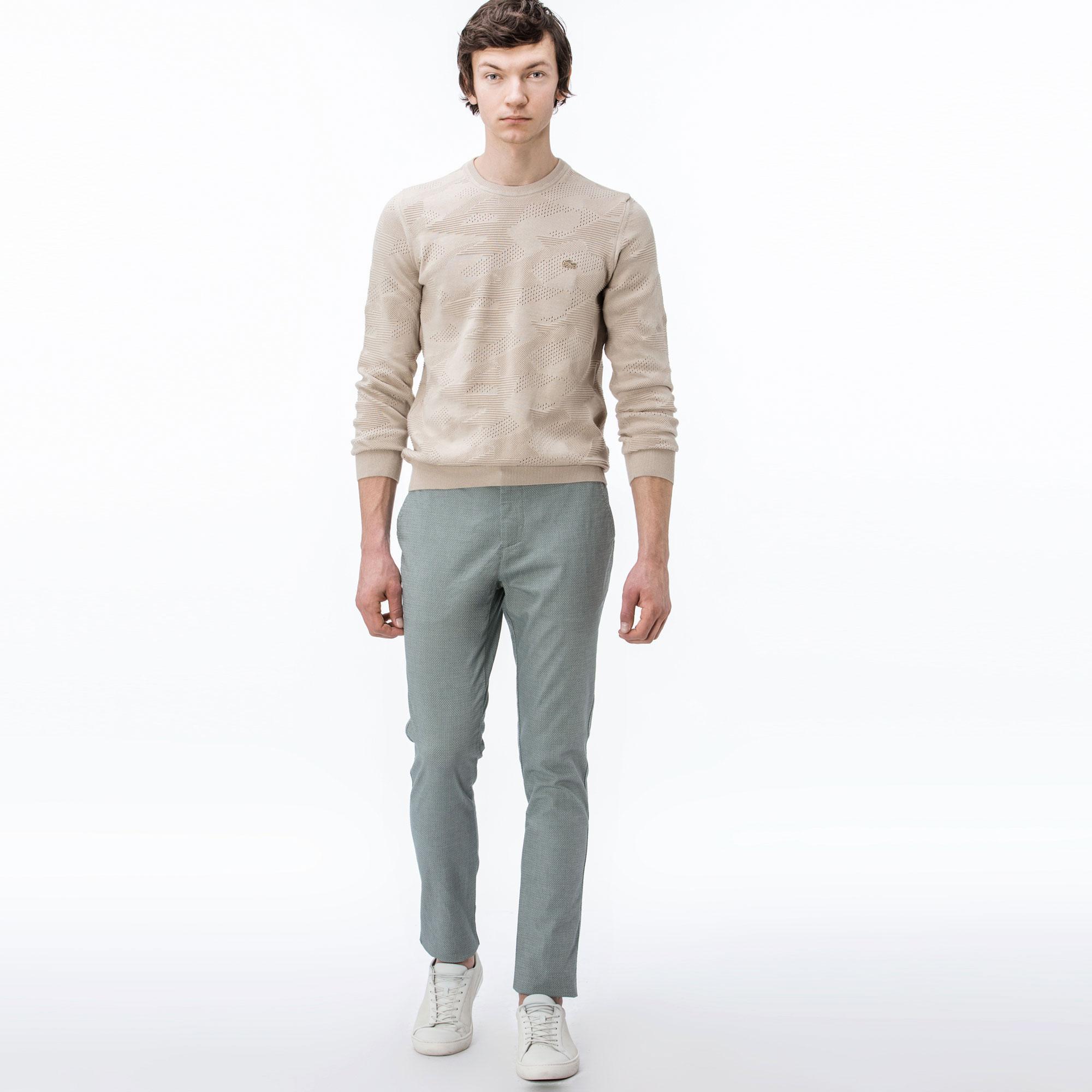Lacoste Erkek Slim Fit Yeşil Pantolon