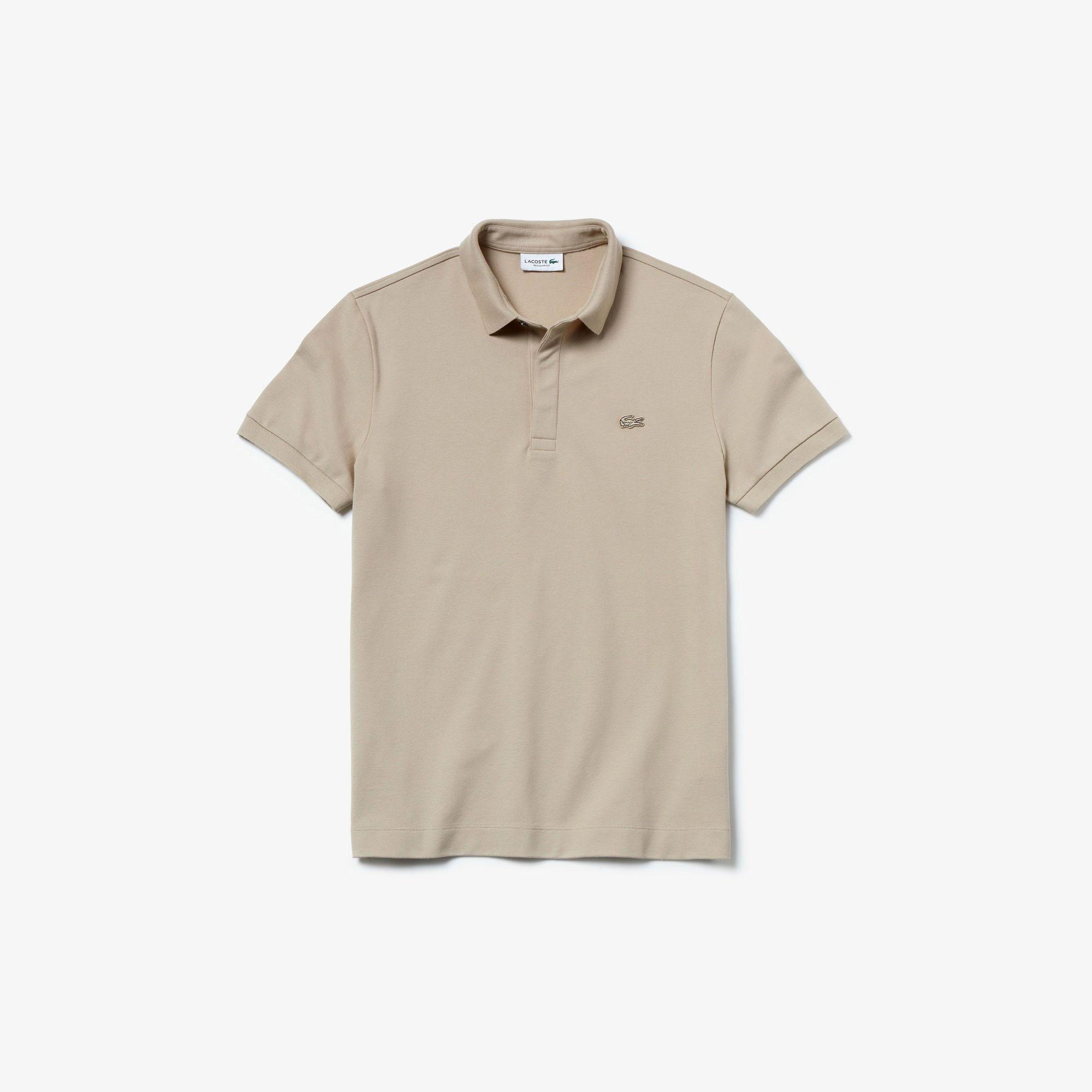Lacoste Erkek Regular Fit Bej Paris Polo