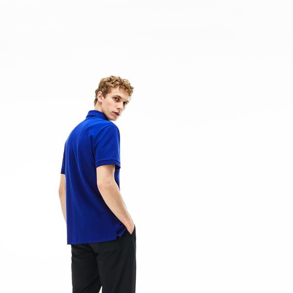 Lacoste Erkek Regular Fit Lacivert Paris Polo