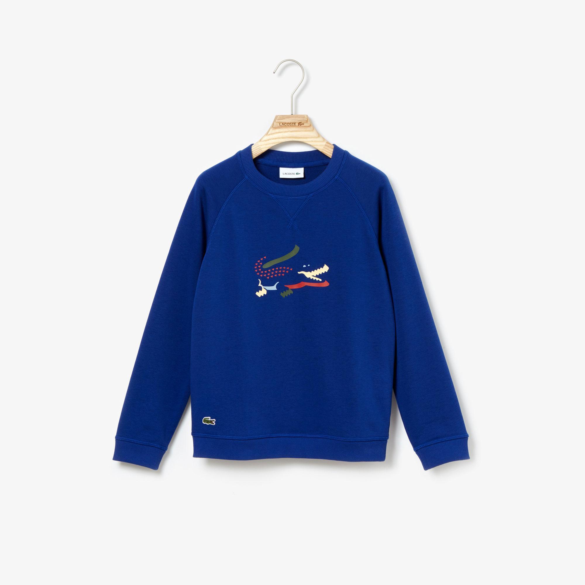 Lacoste Çocuk Lacivert Sweatshirt