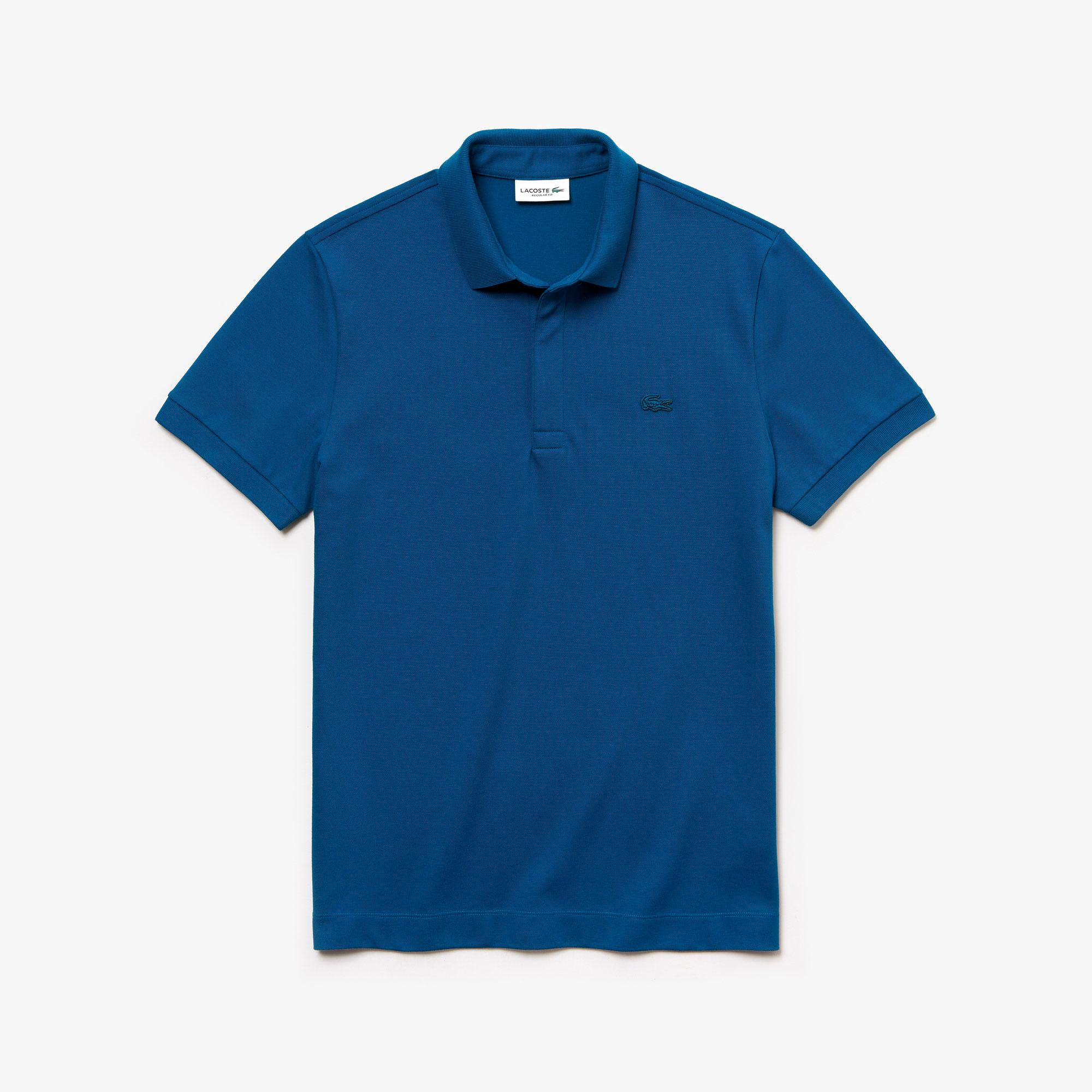 Lacoste Erkek Regular Fit Mavi Paris Polo