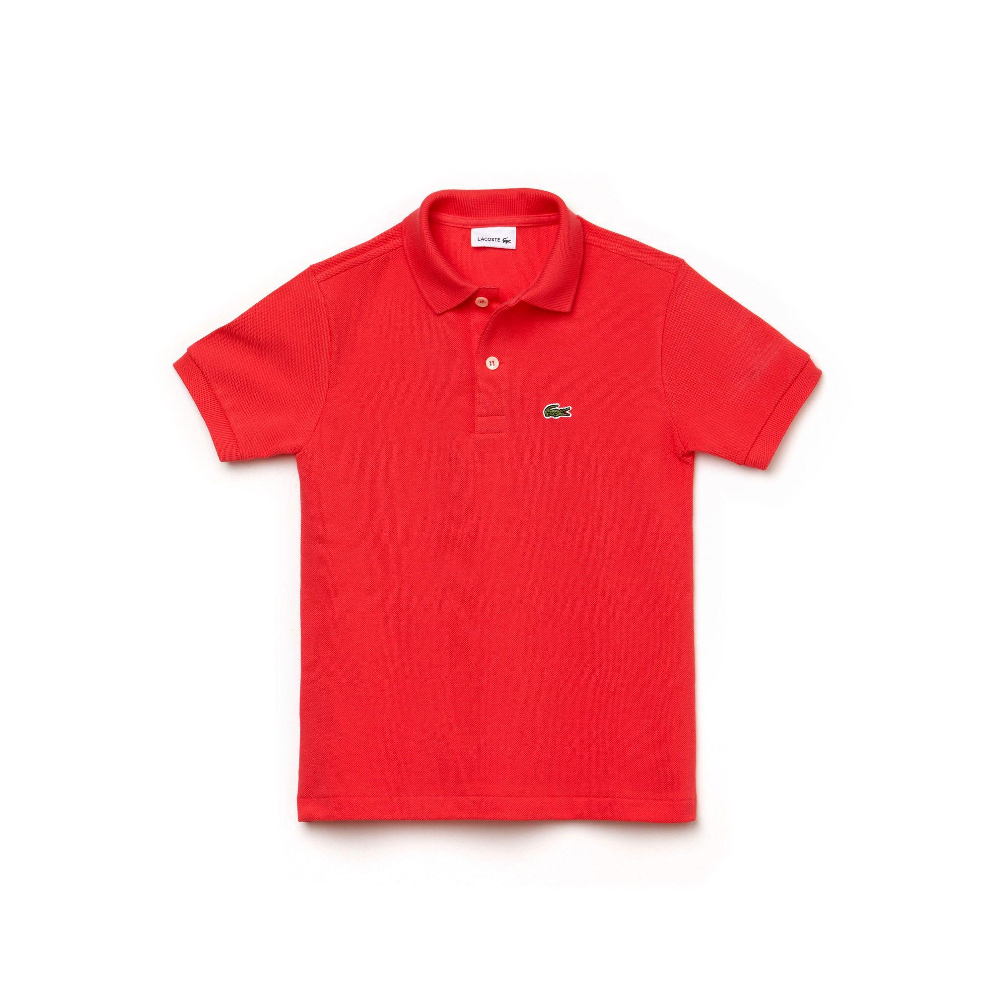 Lacoste Çocuk Kırmızı Polo